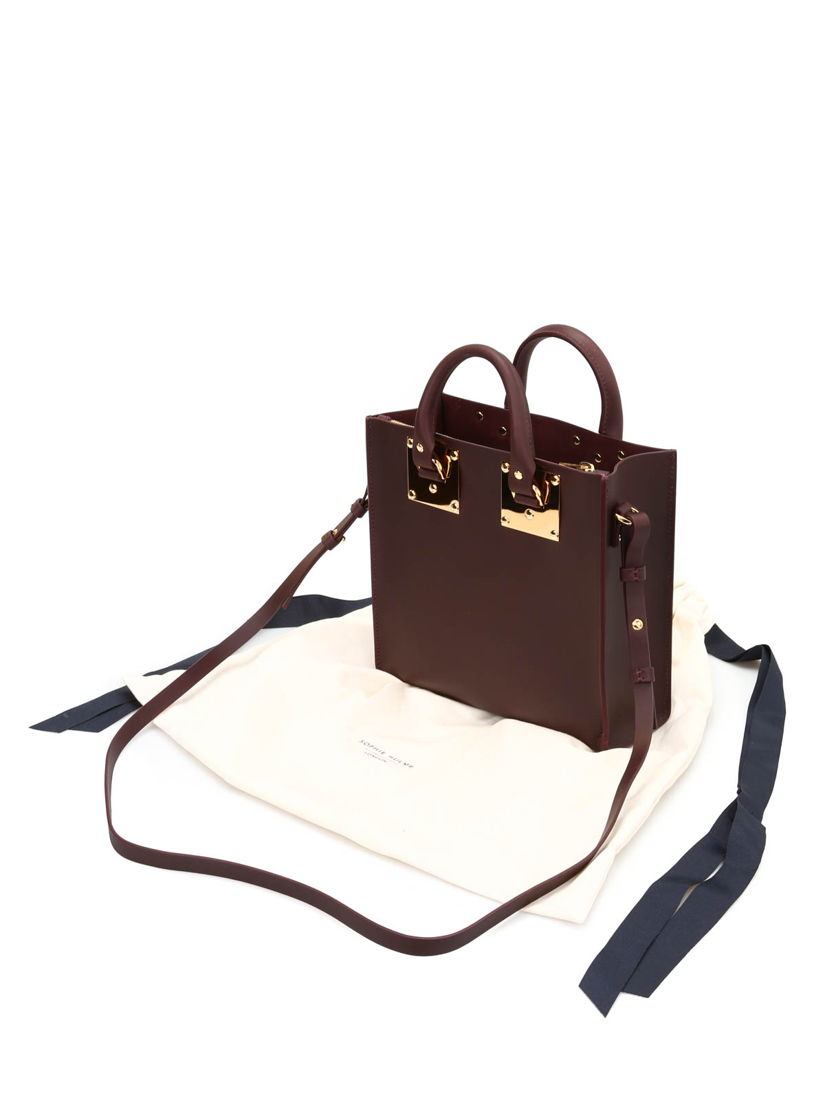 31e49244d Sophie Hulme - Albion square tote - totes bags - BG151LE OXBLOOD