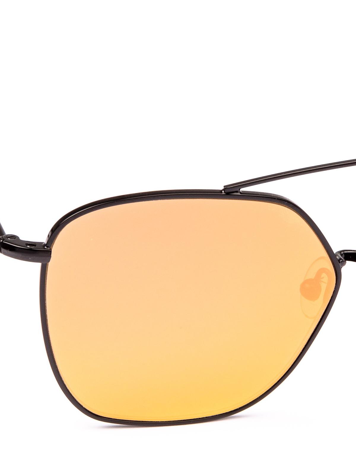 7727d073a3503a iKRIX SPEKTRE  sunglasses - Dolcevita yellow lens black frame sunglasses