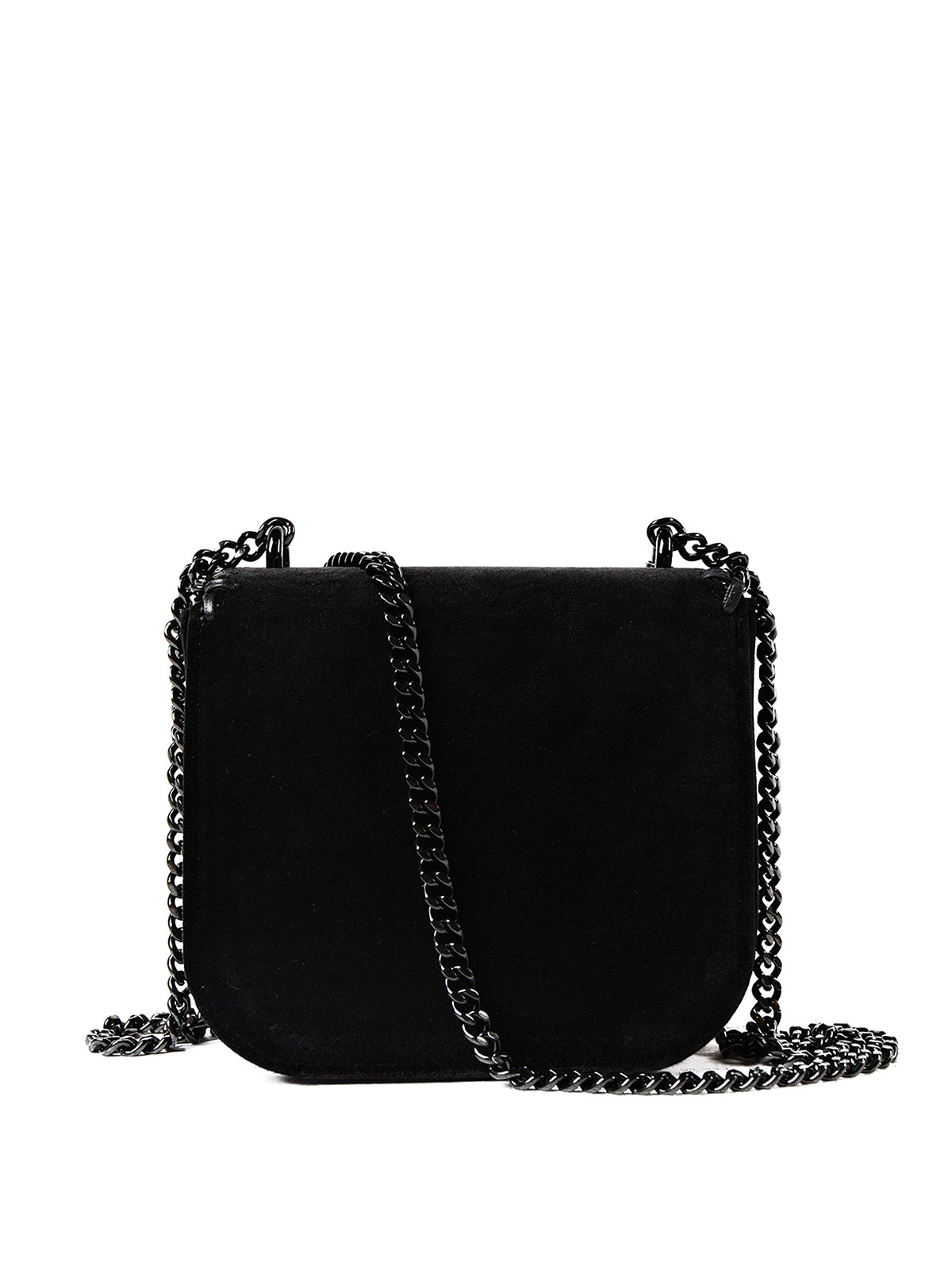 6cbca116a24f iKRIX STELLA McCARTNEY  cross body bags - Falabella Box black velvet mini  bag