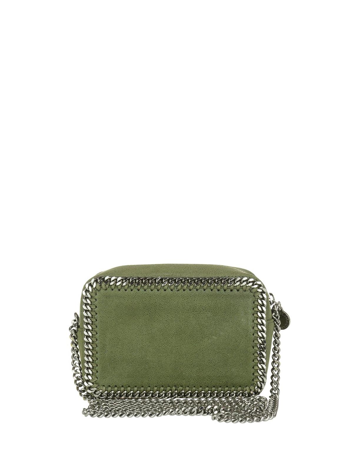 331fe1a942 iKRIX STELLA McCARTNEY  cross body bags - Falabella olive green crossbody  bag