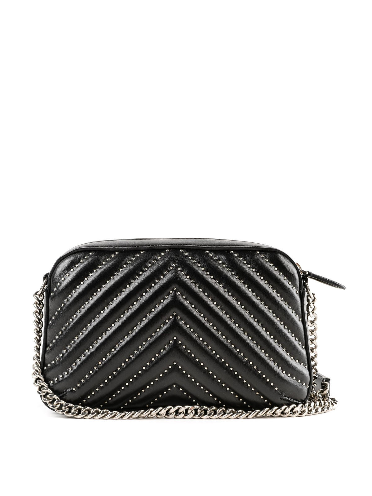 2227e6b7ea iKRIX STELLA McCARTNEY  cross body bags - Stella Star black matelassé small  camera bag