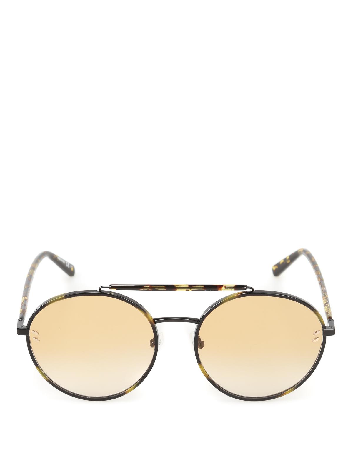 c0adf5a06a5c5 Stella Mccartney - Havana round sunglasses - sunglasses - SC0134S002