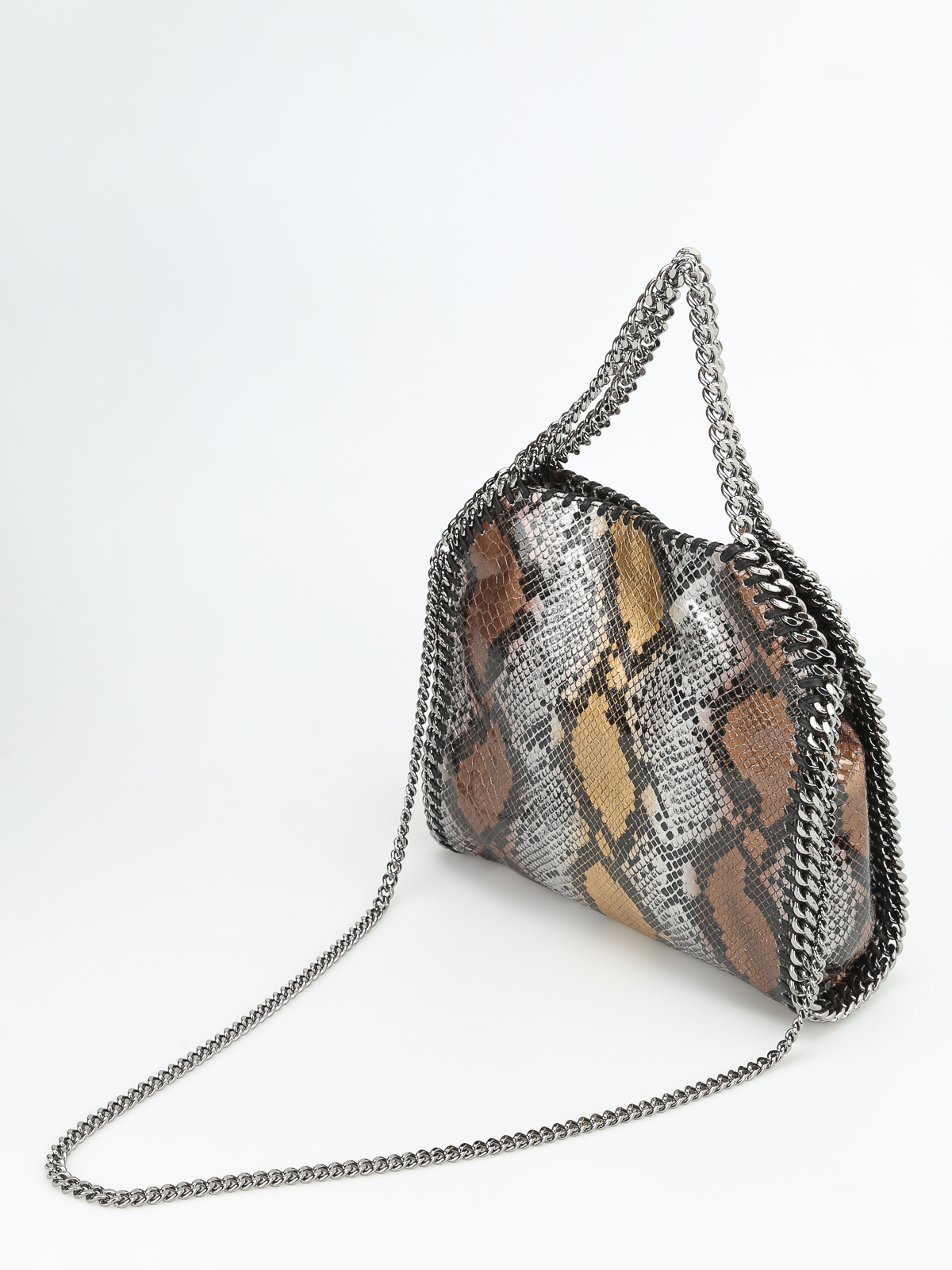 ea140ad2d7b7 iKRIX STELLA McCARTNEY  totes bags - Falabella fold over python bag