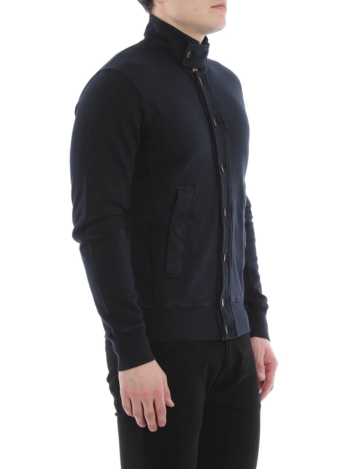 Cotton fleece blazer by Stone Island - casual jackets - iKRIX