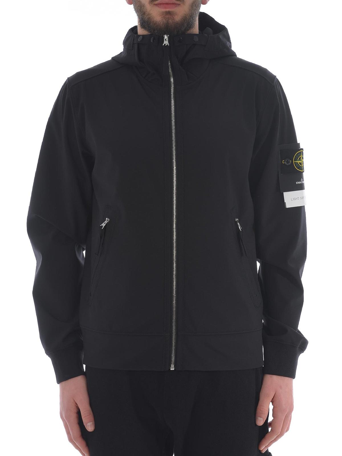 Light Soft Shell-R Black Jacket