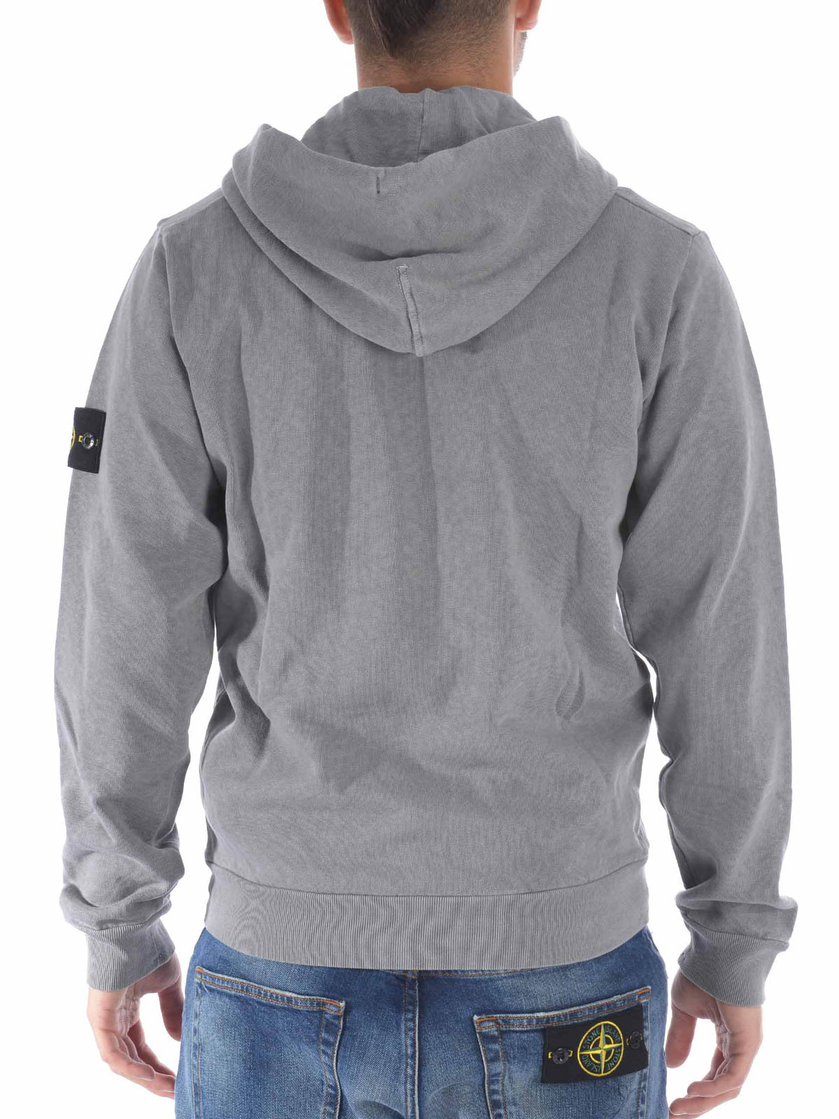 sweatshirt und pullover grau von stone island sweatshirts und pullover ikrix 62161 v0160. Black Bedroom Furniture Sets. Home Design Ideas