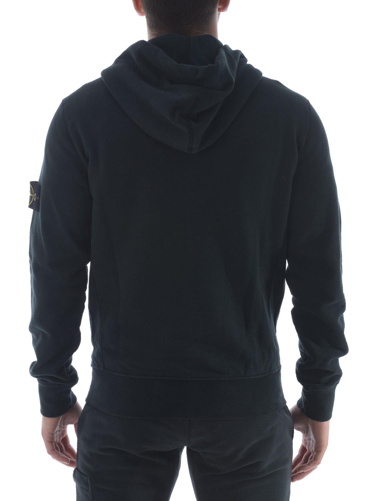 Stone island black hooded jumper dress