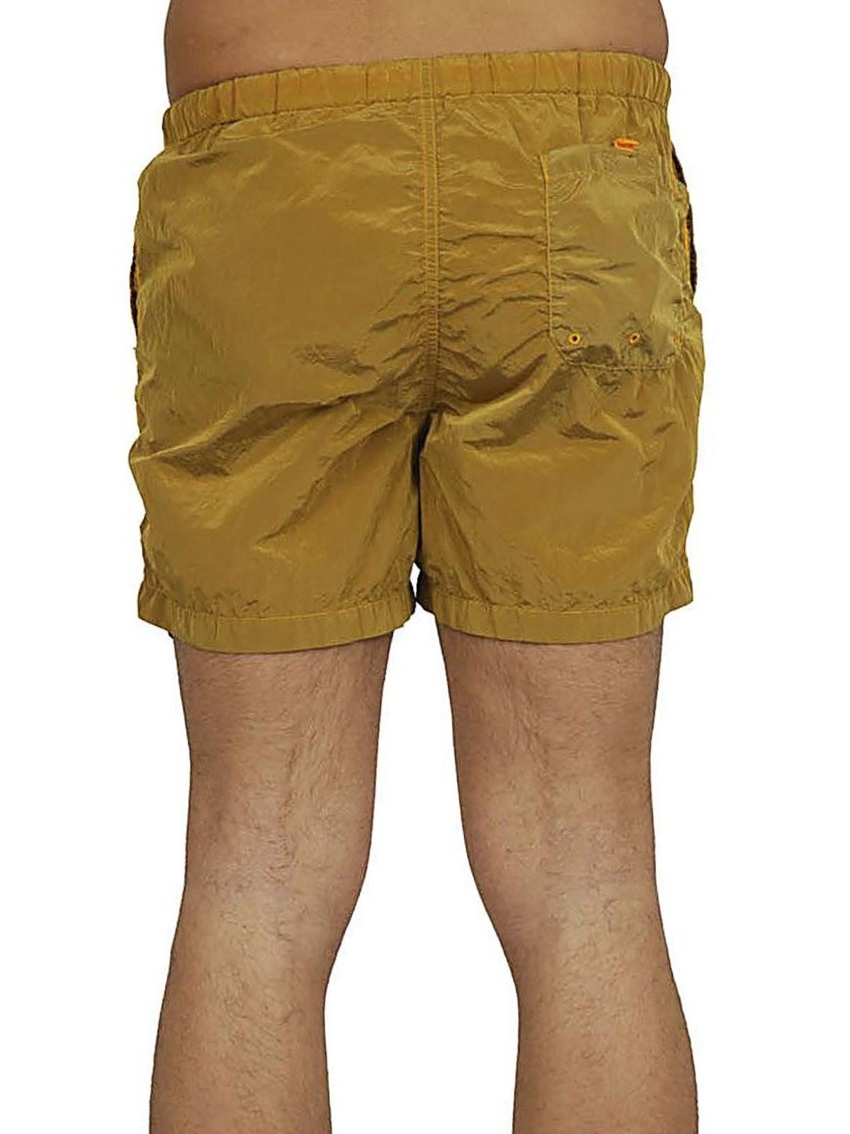 b2cc2e2e15c2 iKRIX STONE ISLAND  Swim shorts   swimming trunks - Nylon Metal yellow swim  shorts