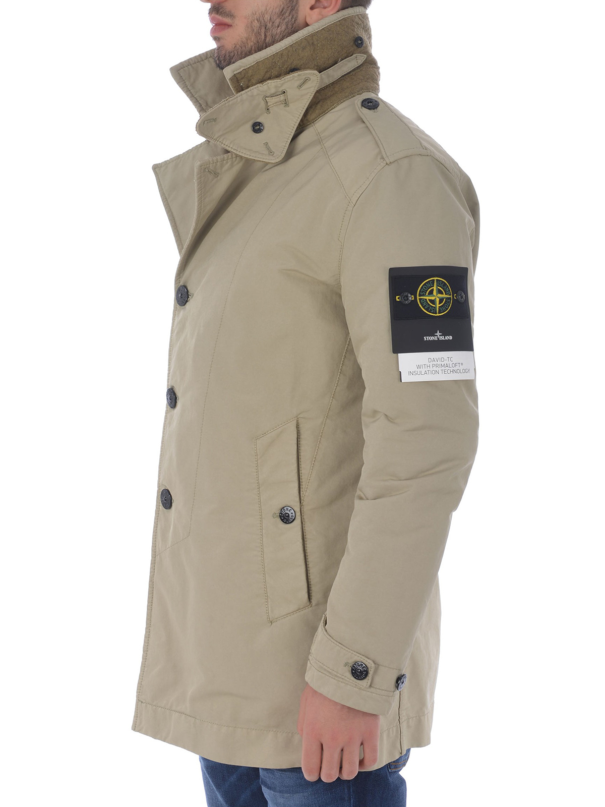 good out x entire collection new release Stone Island - David-TC slightly padded trench coat - trench ...
