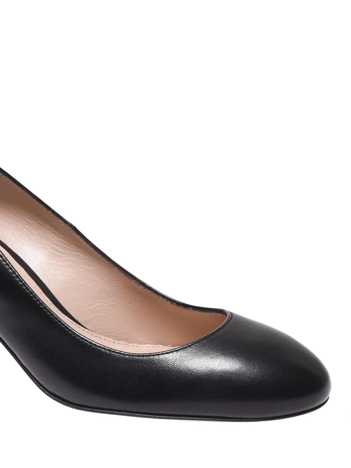 92130e0f107 iKRIX Stuart Weitzman  court shoes - Calf leather pumps with block heel