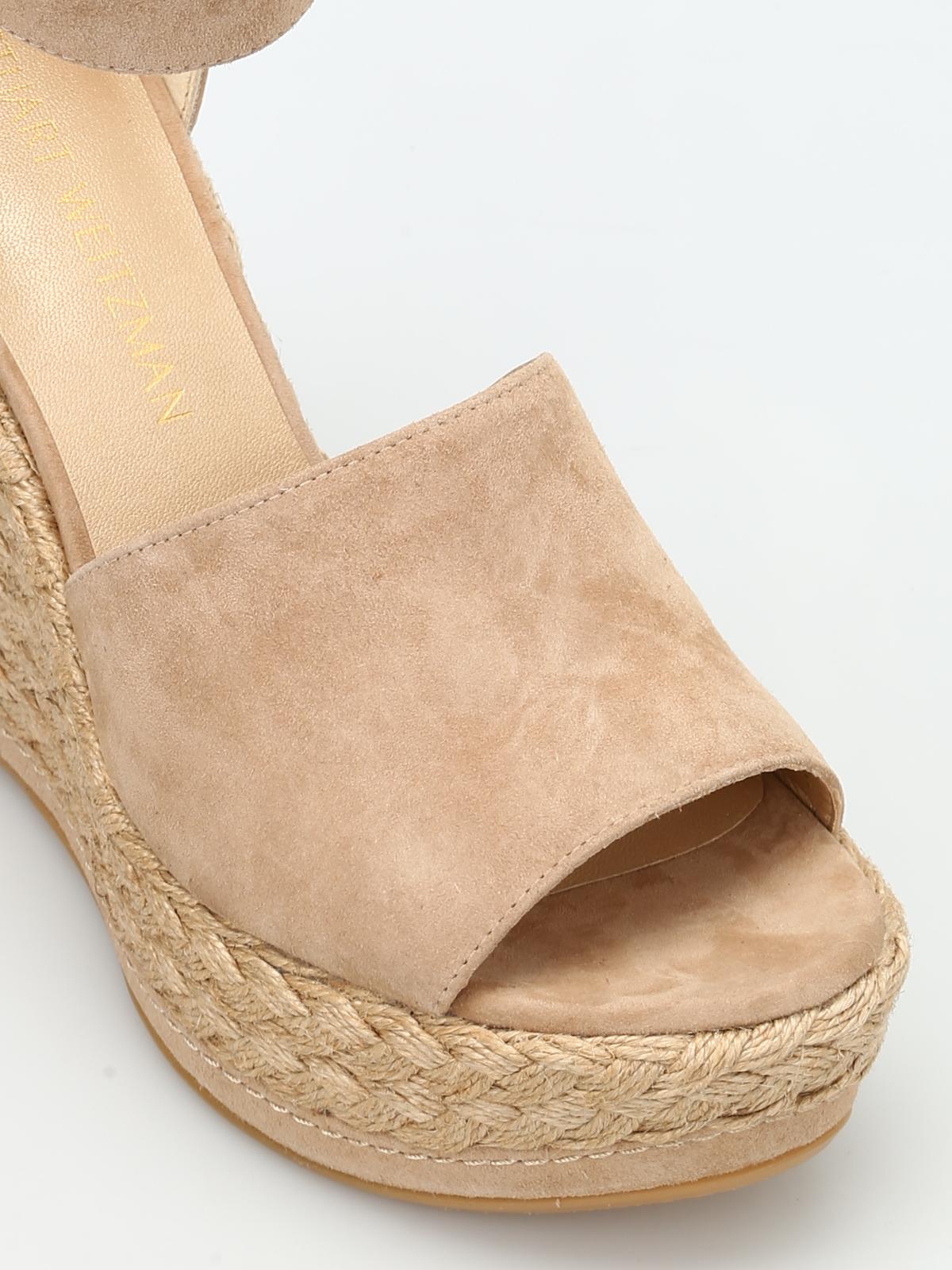30225ce5a84 Stuart Weitzman - Sohojute wedge sandals - sandals - SOHOJUTE MOJAVE