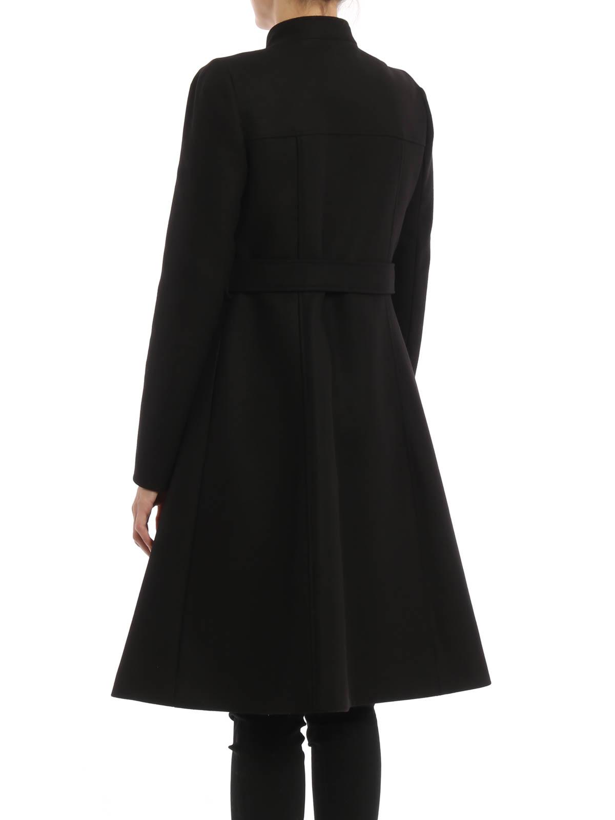 15c5b35f77 iKRIX TARA JARMON  knee length coats - Fitted wool coat with belt