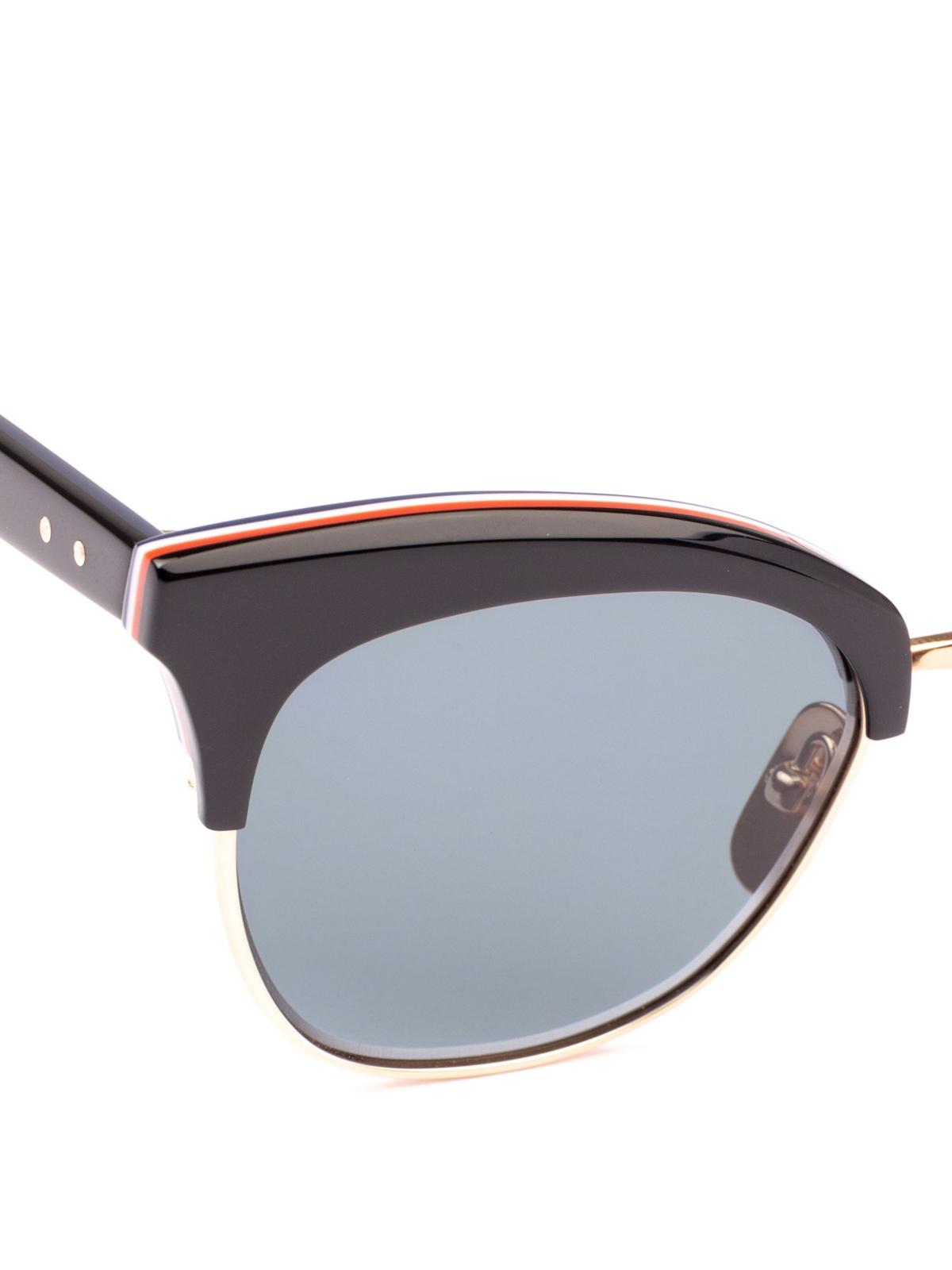 8435b2b9b99 iKRIX THOM BROWNE  sunglasses - 12K gold laminated lens rim sunglasses