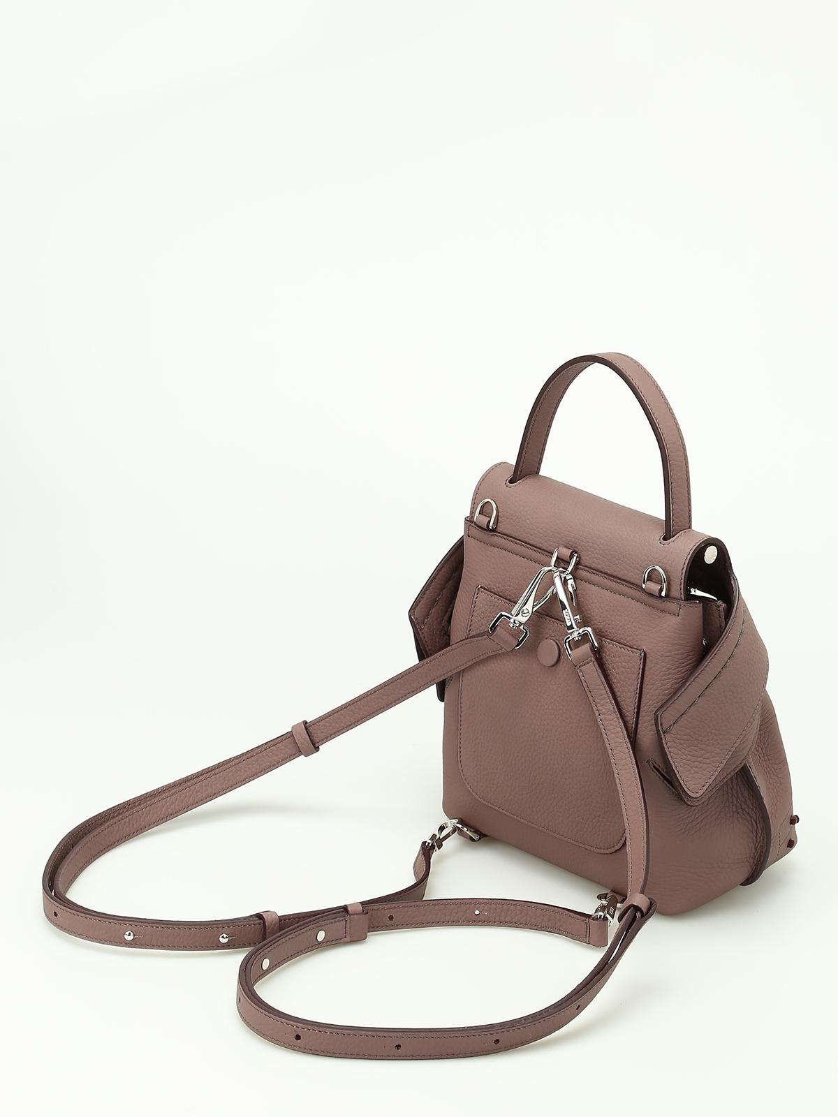 a6f723677316 Tod S - Wave Bag Mini backpack - backpacks - XBWAMRGD101MCAL019