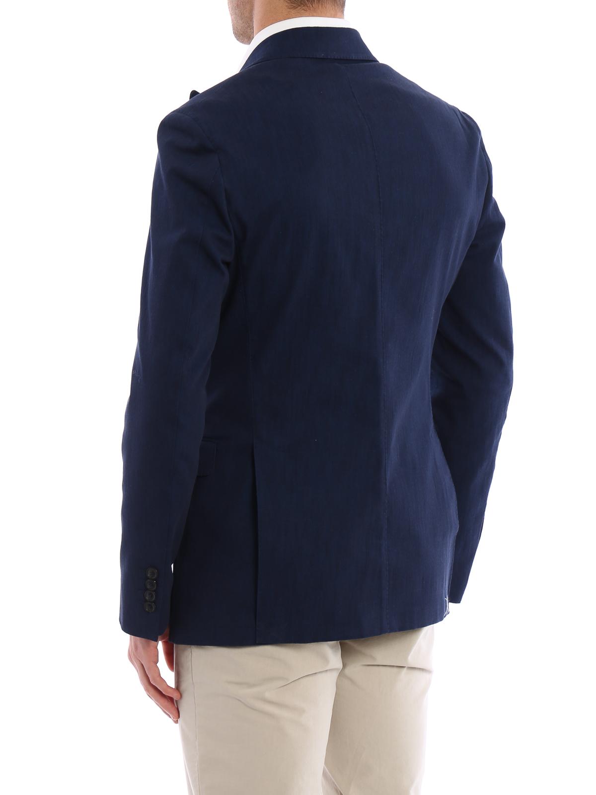 Tod S - Blazer elegante in denim scuro - giacche blazer ... 602079f6220
