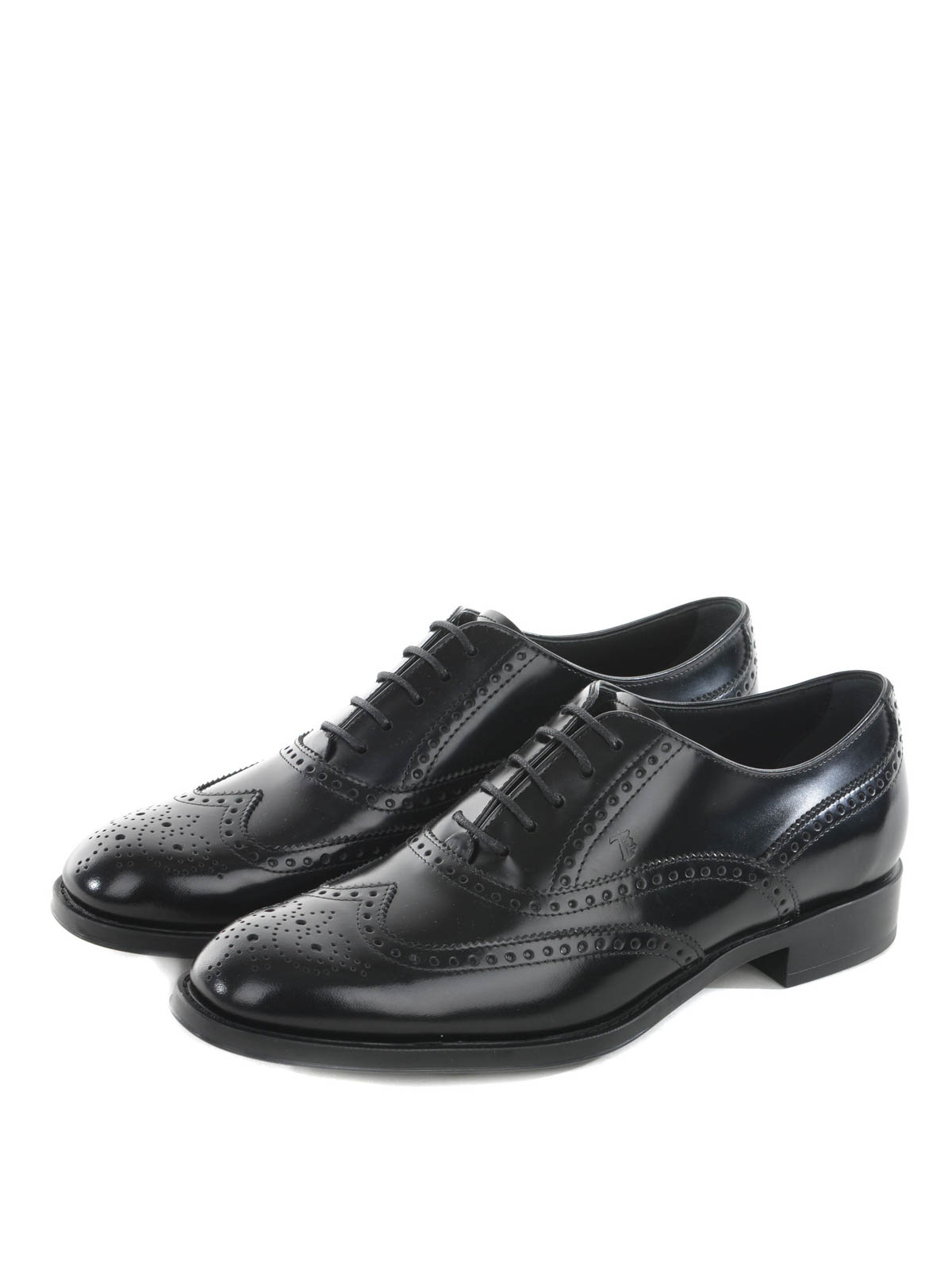 Tod's Leather Brogue Loafers outlet 100% guaranteed sale Manchester cheap sale footaction discount geniue stockist avIvIU6muN