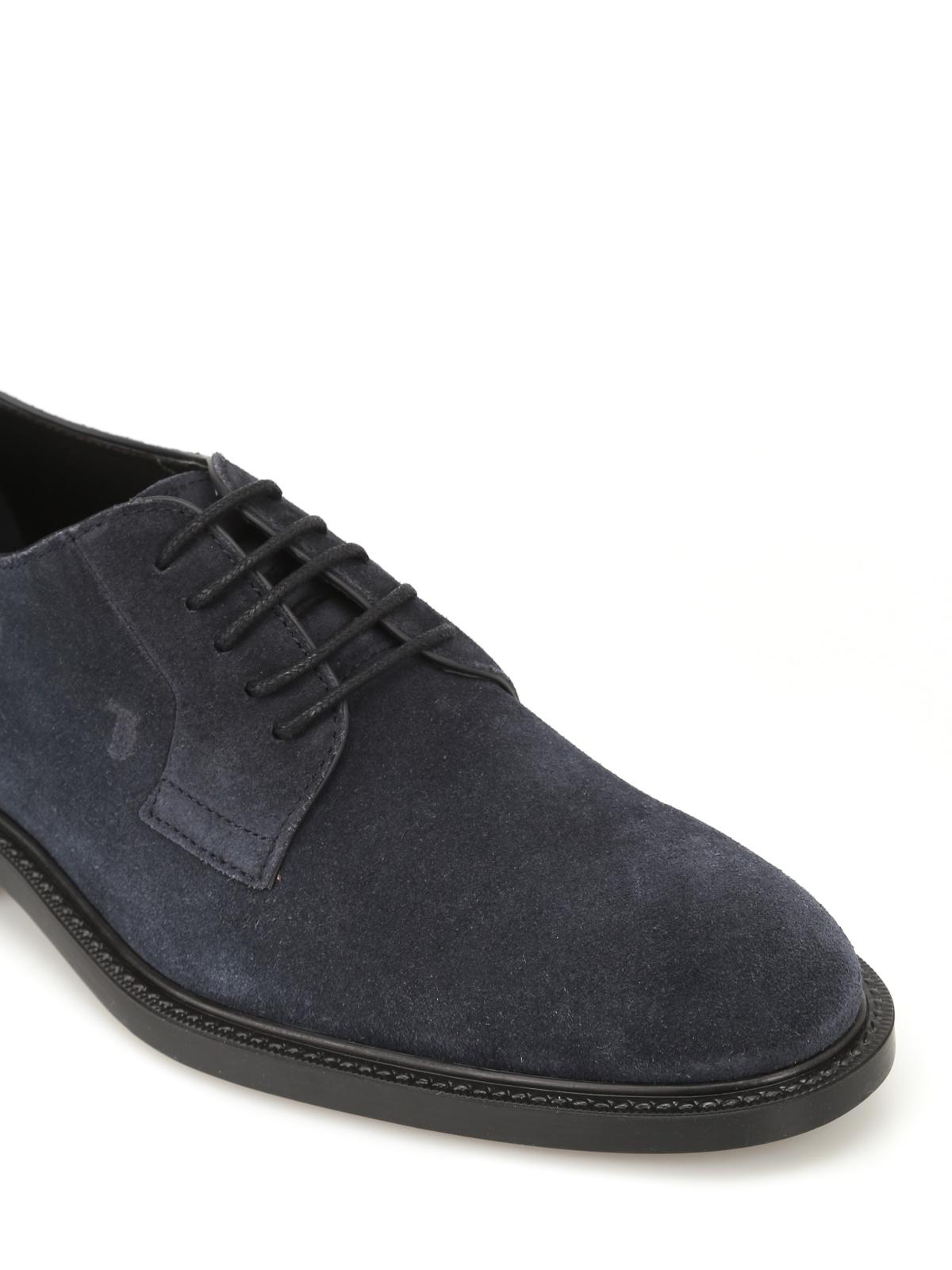 1297bb86b9d7ee Tod S - Scarpe derby in suede allacciate - scarpe stringate ...