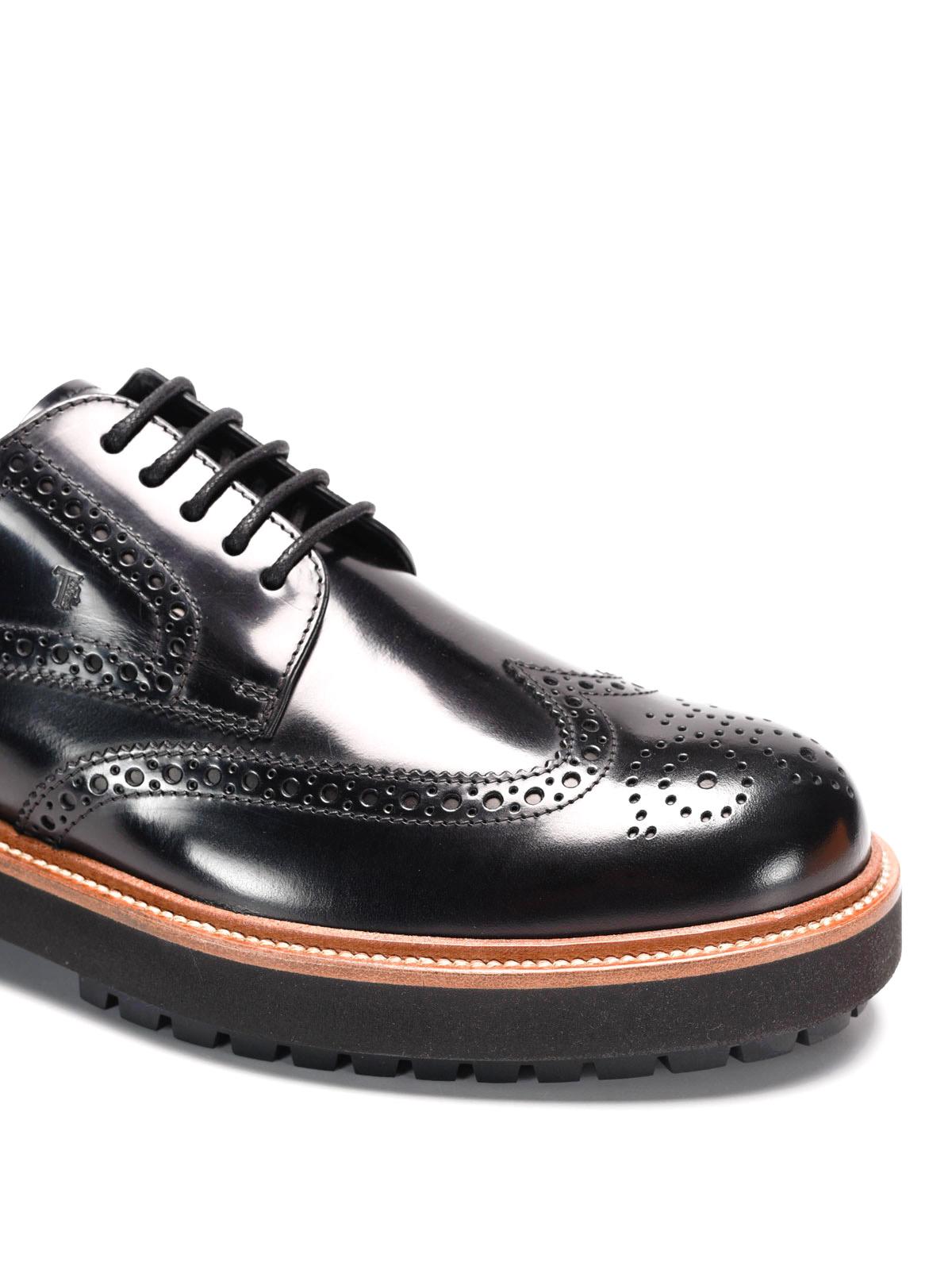 91112669d2331f Tod'S - Derby brogue con suola alta - scarpe stringate ...