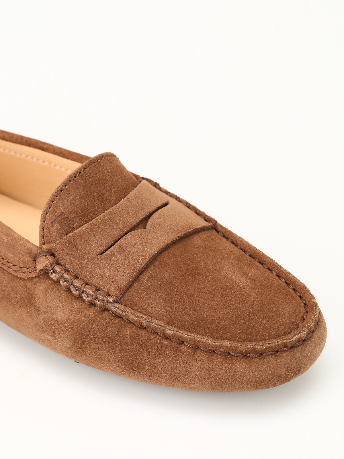 c25eeaca43e Tod'S - Gommino chestnut driving shoes - Loafers & Slippers ...