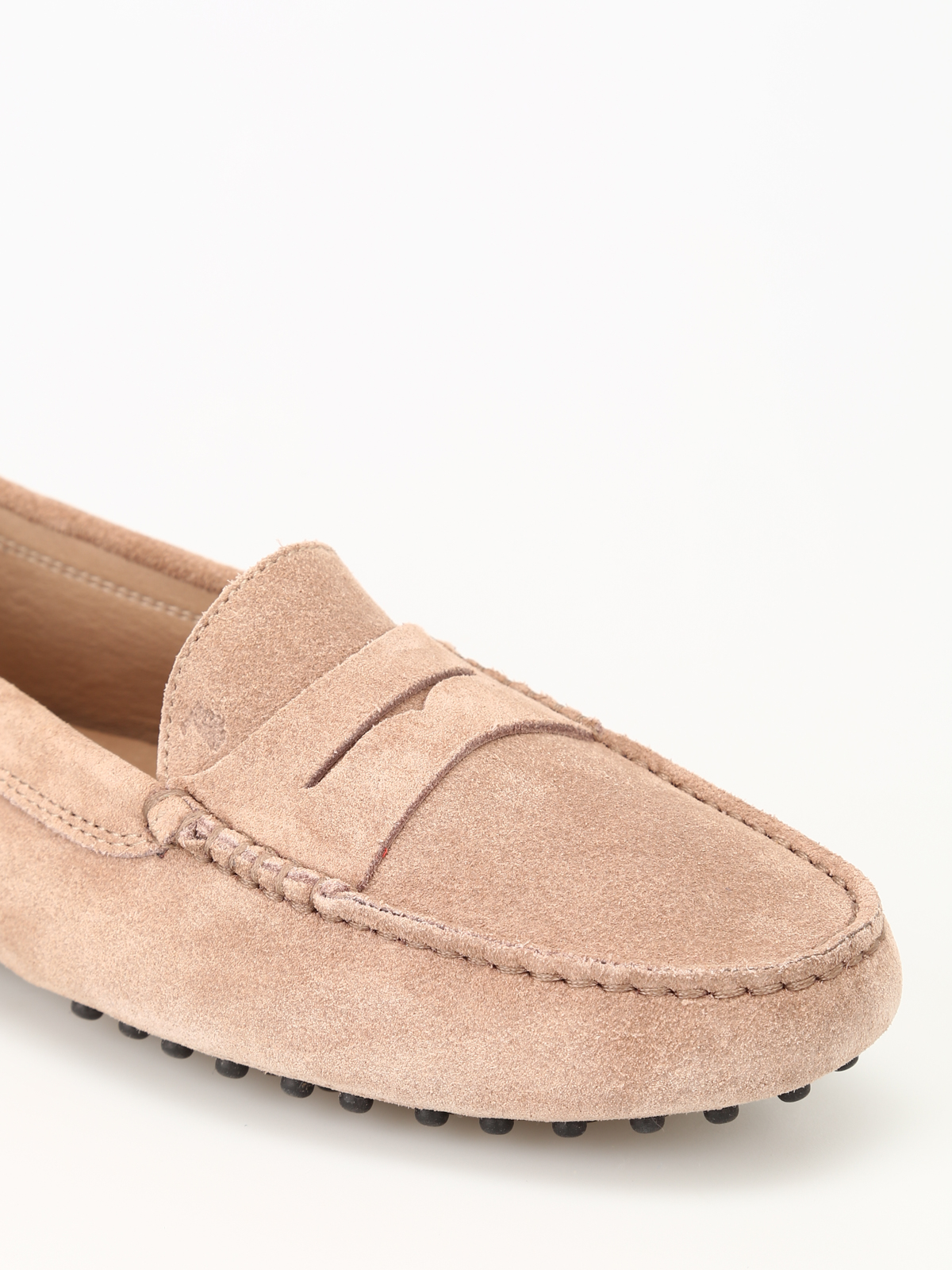Gommino ginger suede driving shoes