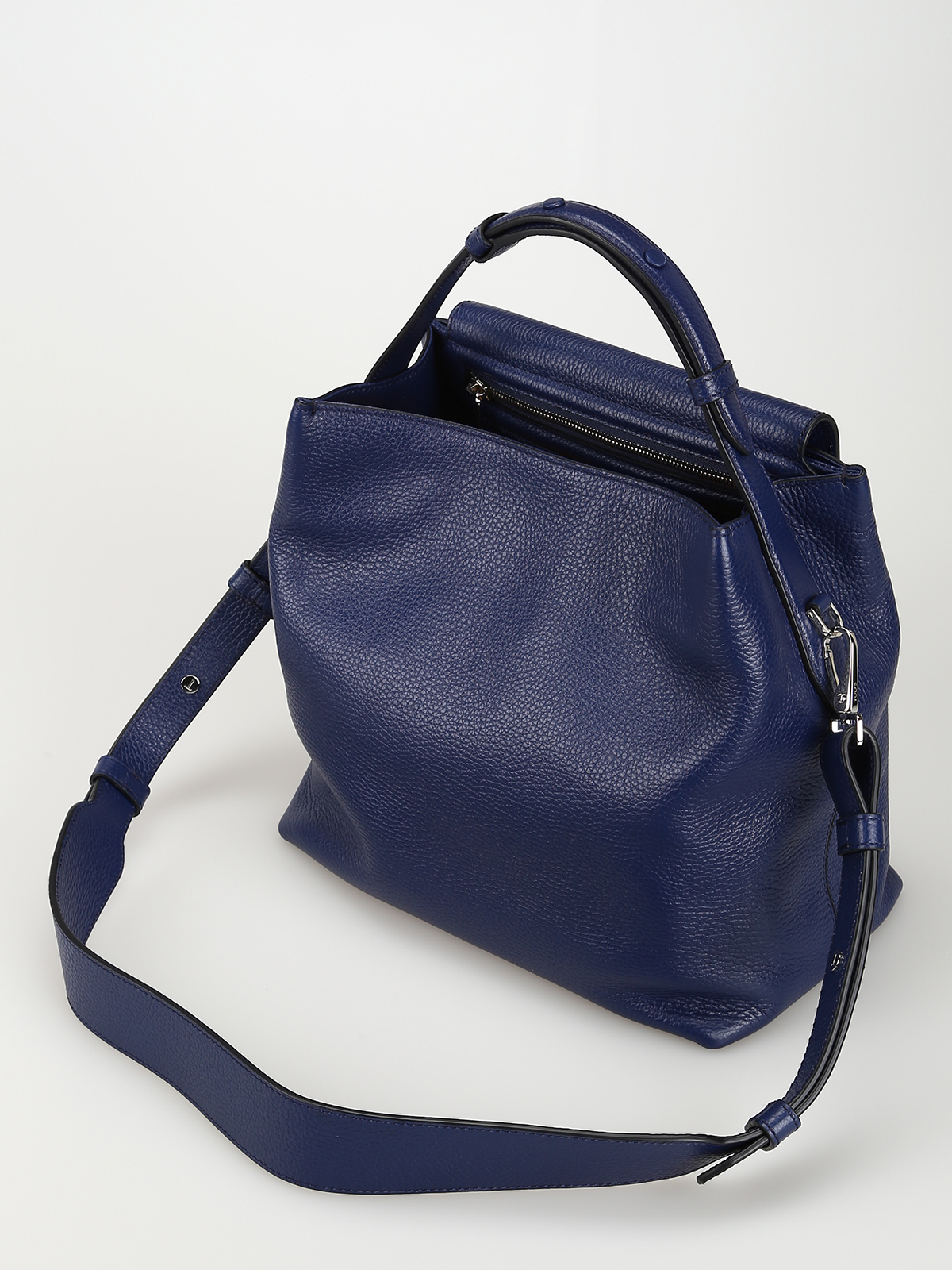 9d2b5e8511 Tod'S - Joy blue leather small shoulder bag - shoulder bags ...