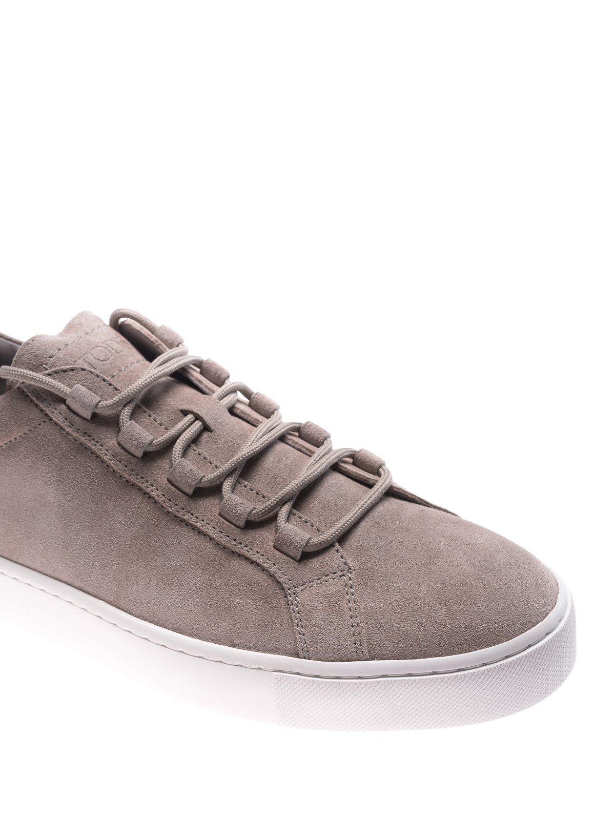 Taupe suede sneakers Tod's X3cQeU