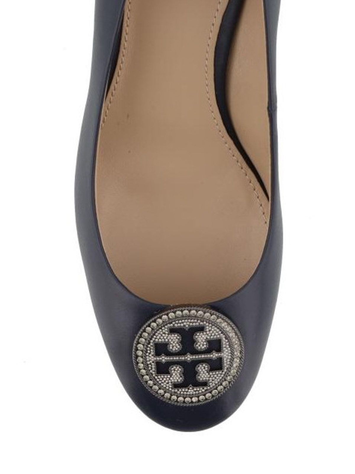 e2c4e4b060a Tory Burch - Liana blue leather pumps - court shoes - 46258 403