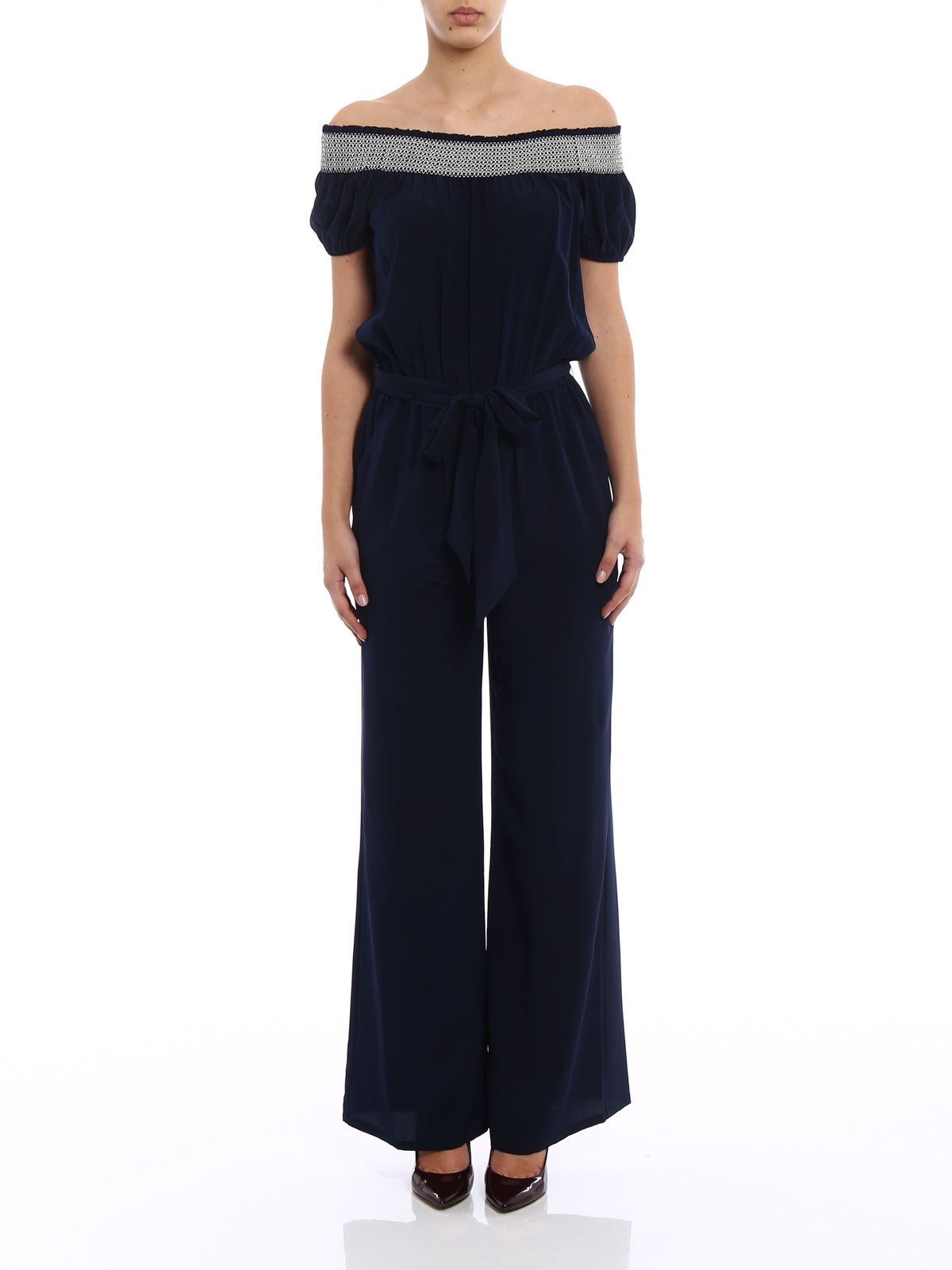 Find Great For Sale Discount Finishline Misty silk jumpsuit Tory Burch 1Tsqd