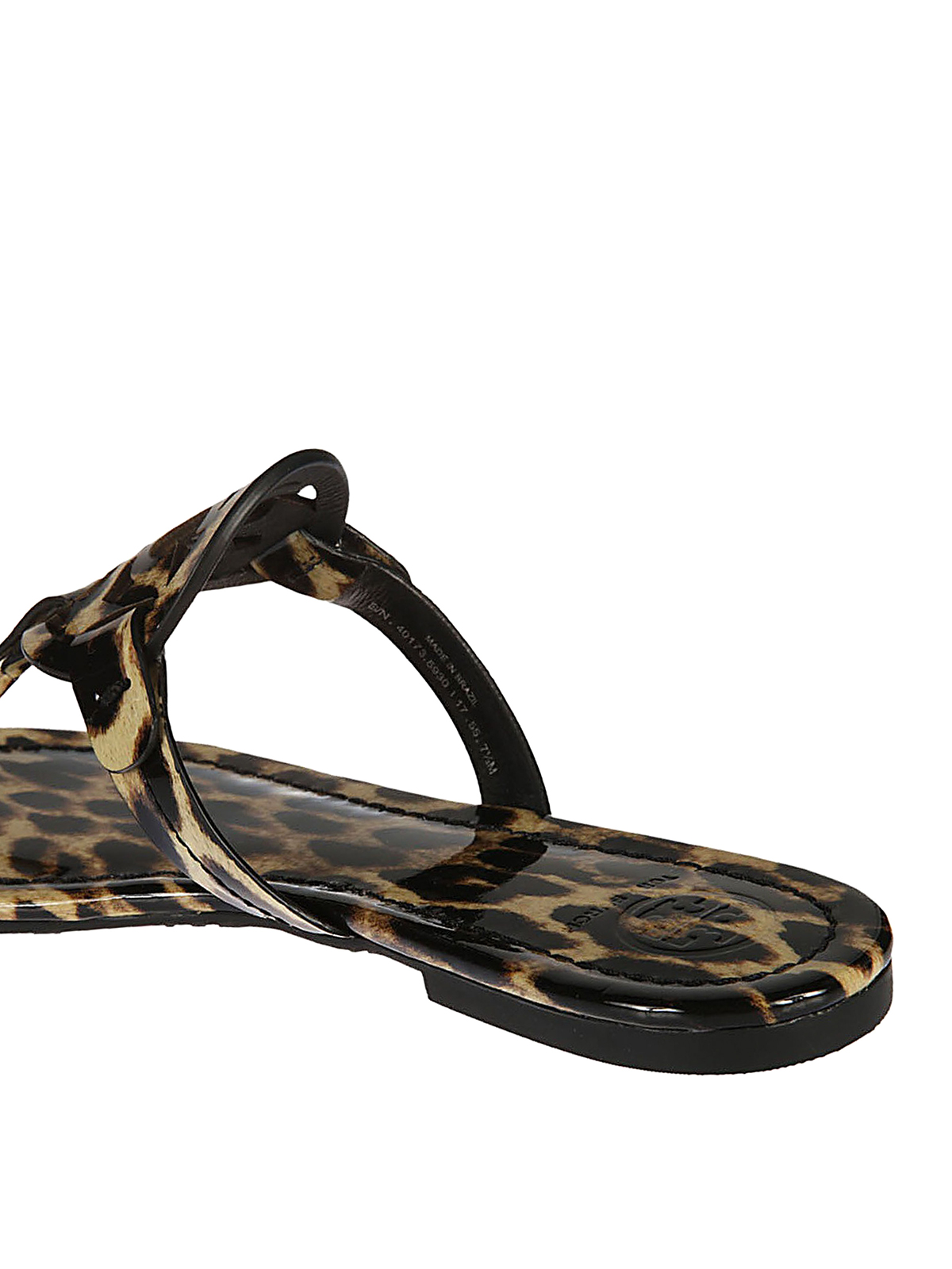 7af5b2f62756b Tory Burch - Miller leather sandals - sandals - 40173 221