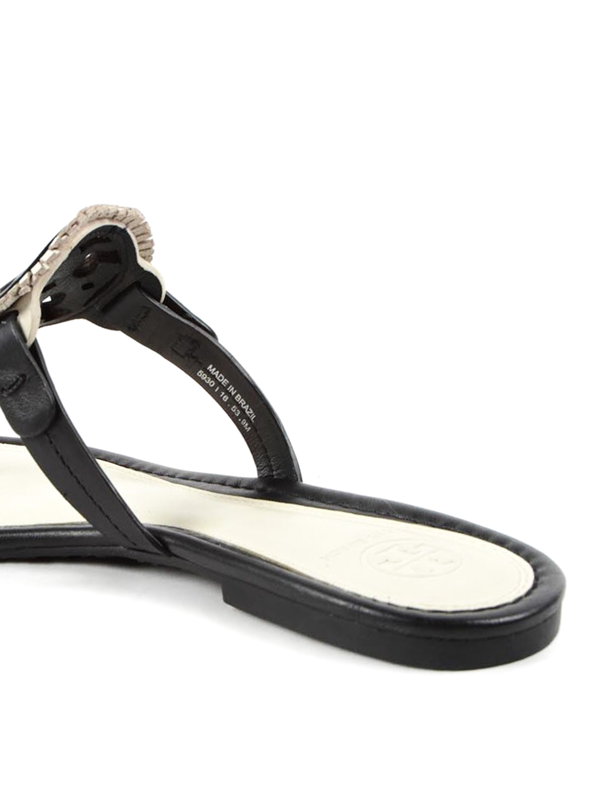 1ab12839320fd Tory Burch - Miller leather thong sandals - صندل - 33128 890