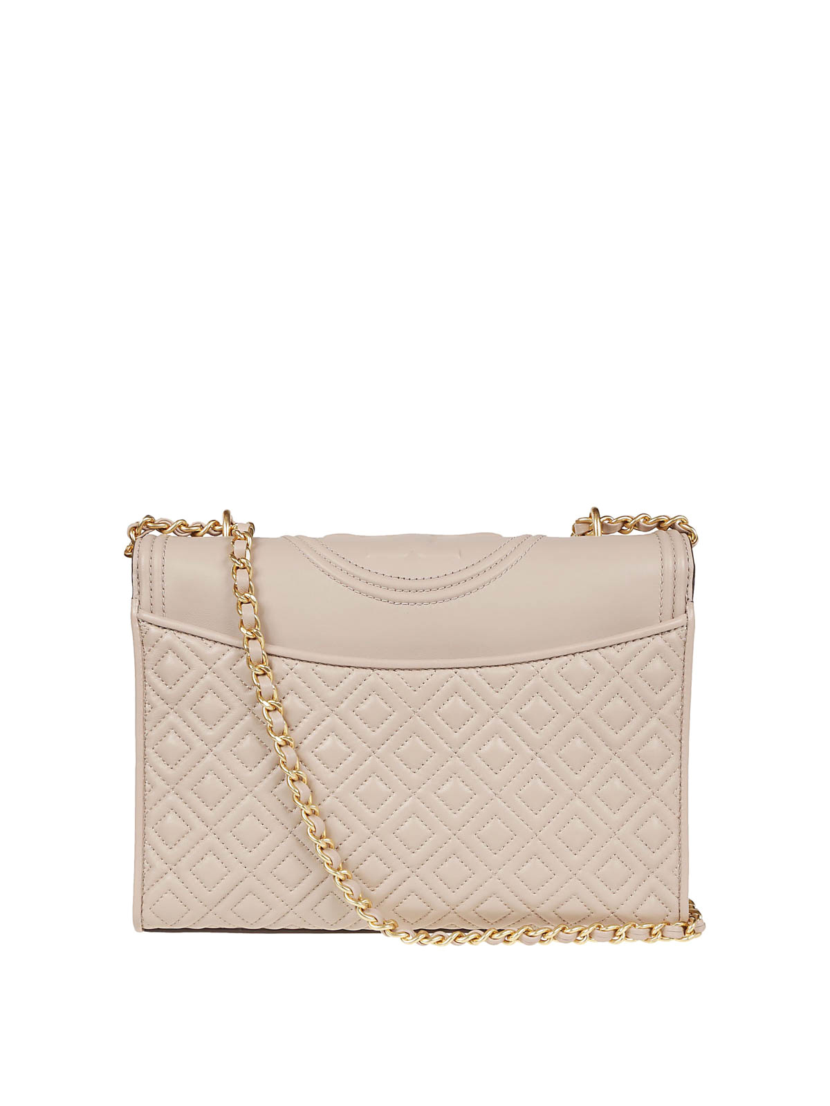 7cc0a1d2b97 iKRIX TORY BURCH  shoulder bags - Fleming light taupe quilted leather bag