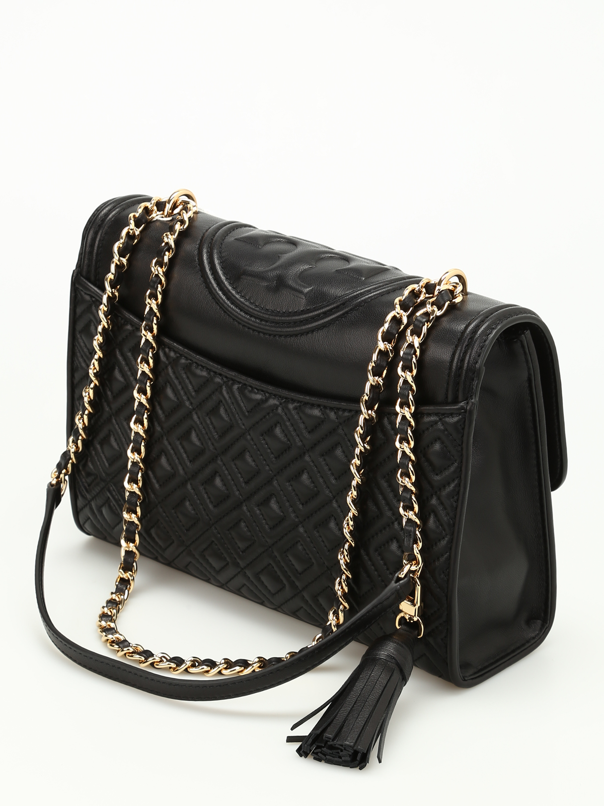 56e44ba8fc9 Tory Burch - Fleming quilted leather bag - shoulder bags - 31381001