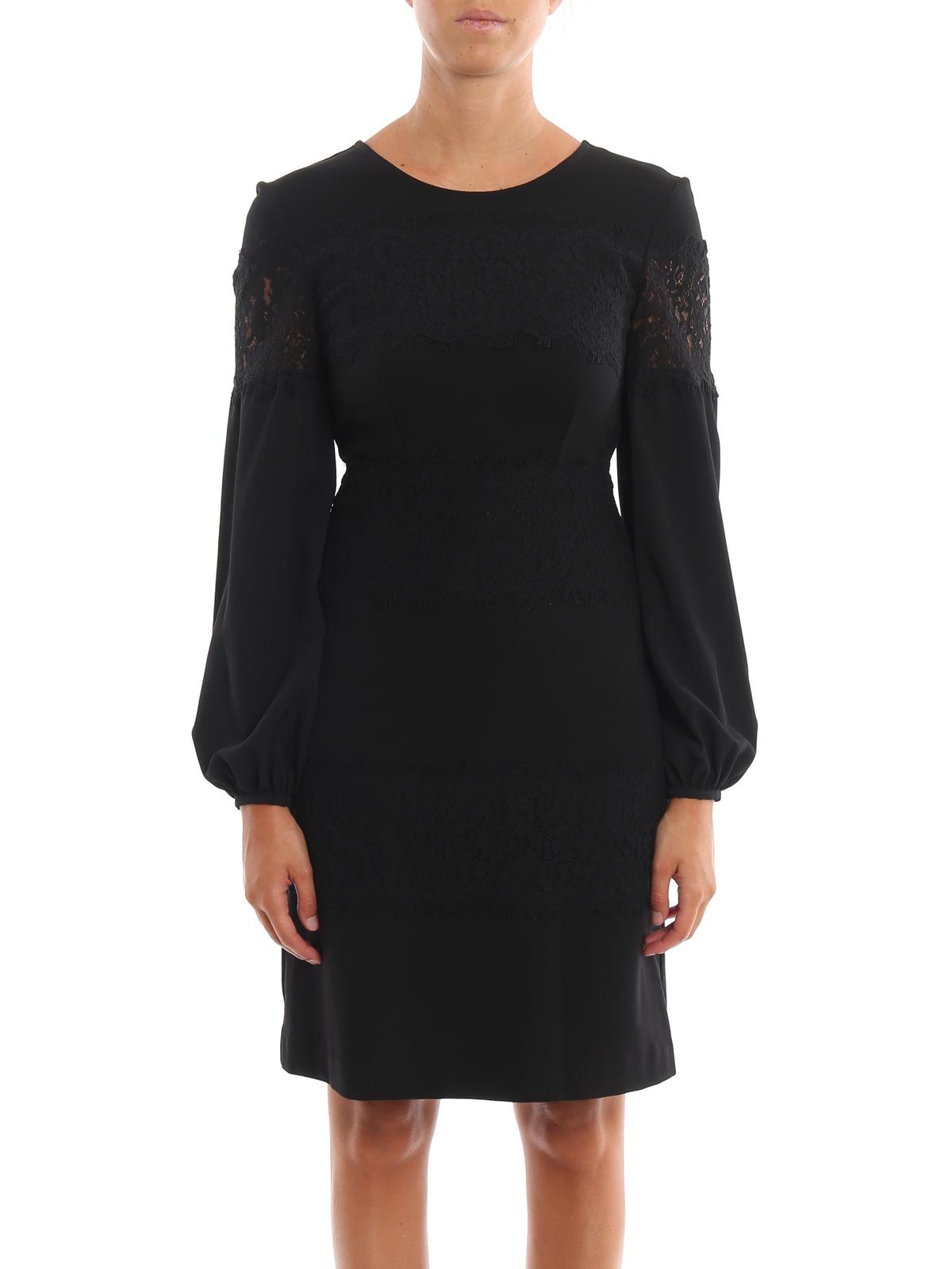 wholesale dealer a1208 6341d Twinset - Knielanges Kleid - Schwarz - Knielange Kleider ...