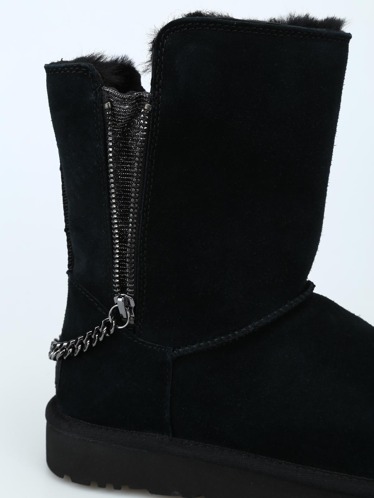 e4a5d5b3046 Ugg - Classic Short Sparkle ankle boots - ankle boots - 1094983WBLK