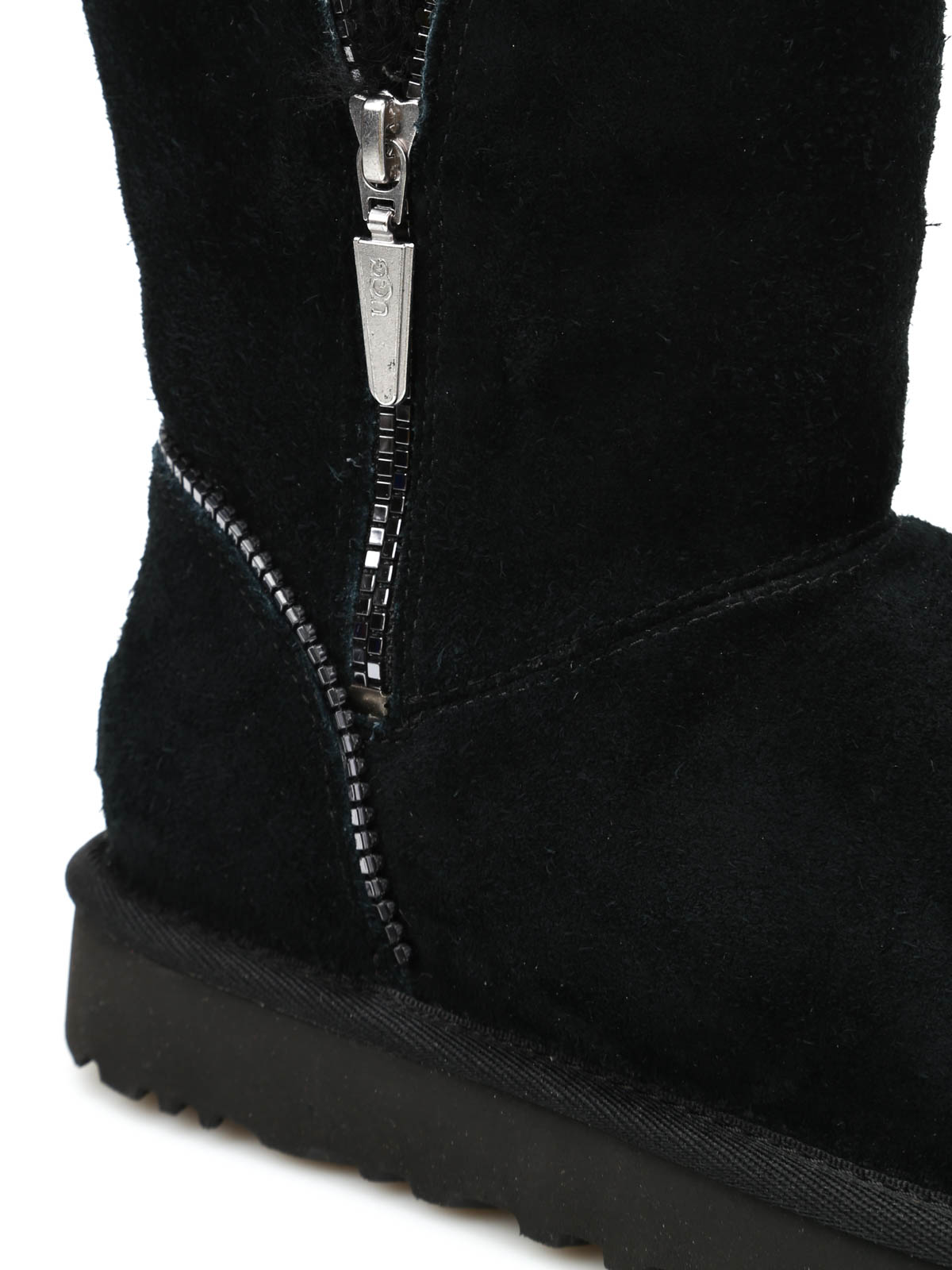 886ffe21fd0 Ugg - Florence zipped ankle boots - ankle boots - 1013165 W / BLK