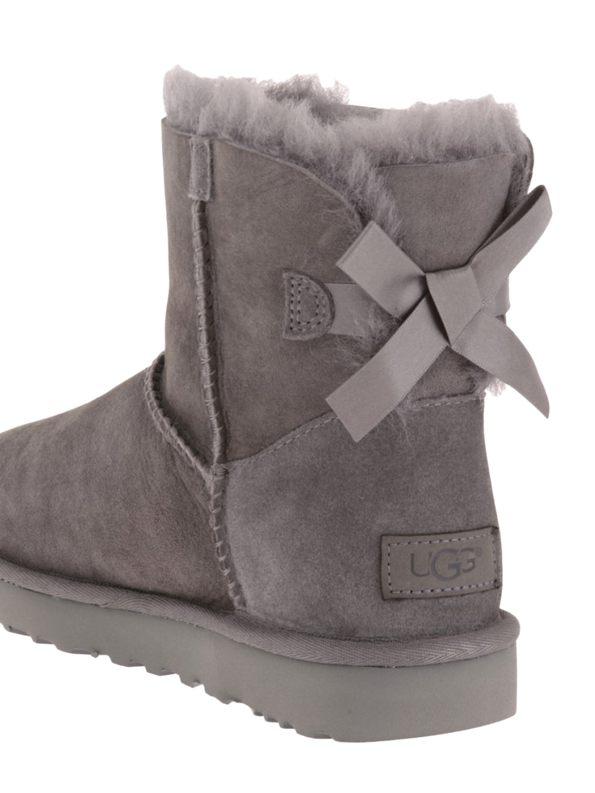 175952cd9767 Ugg - Mini Bailey Bow II booties - ankle boots - 1016501 GREY ...