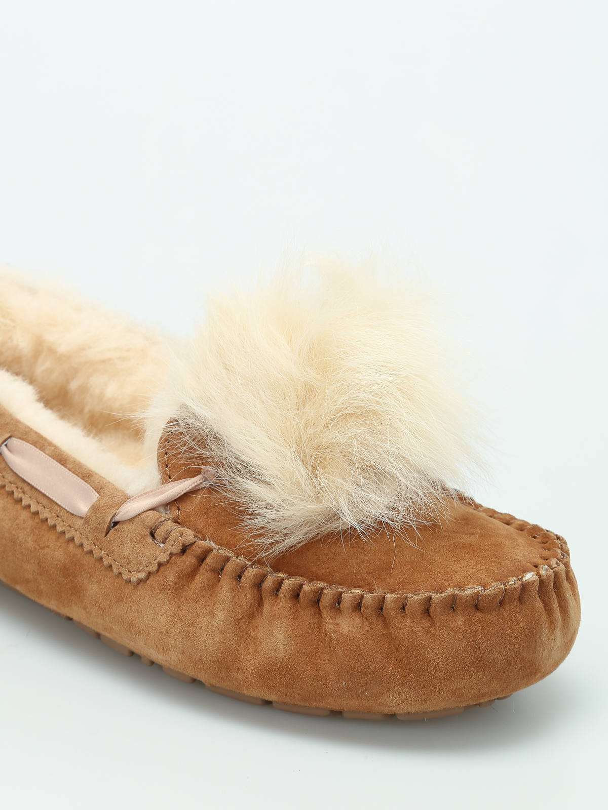 be351eaa55d Ugg - Dakota Pom Pom slippers - Loafers & Slippers - 1019015 W CHE