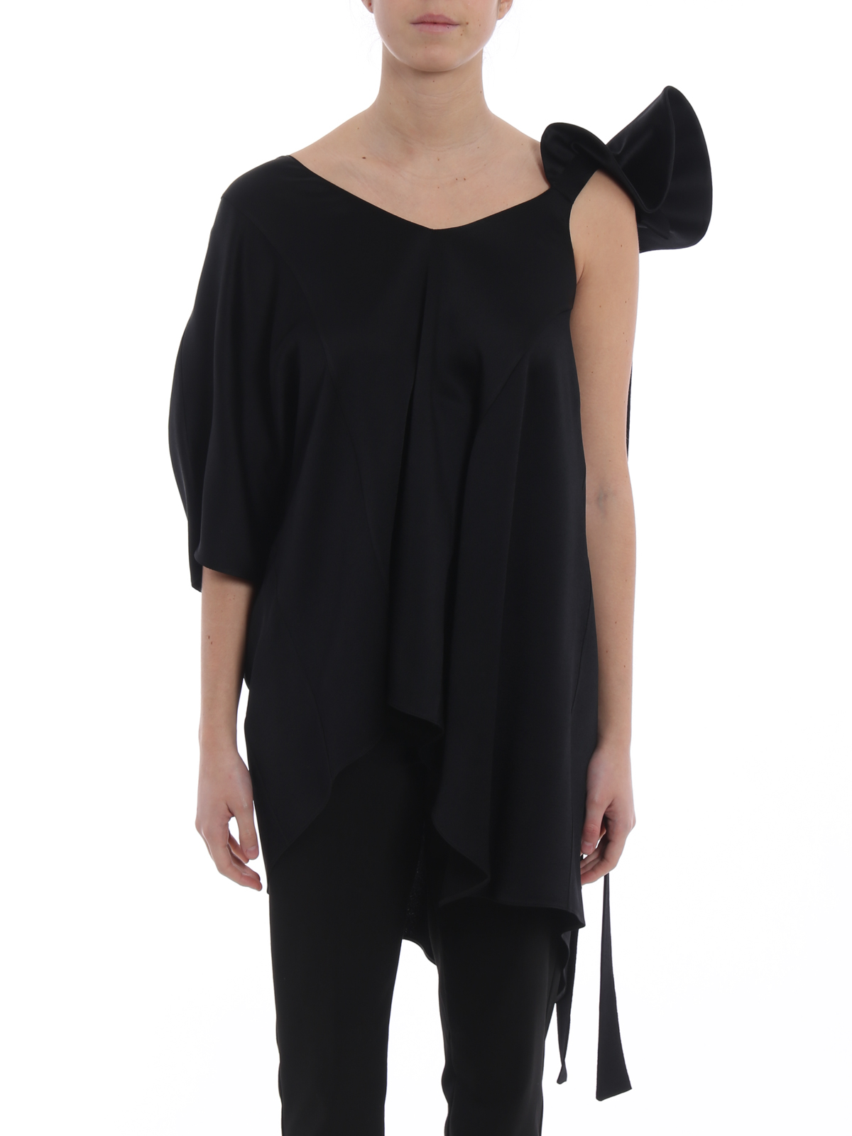 draped chlo iconic product drapes milk modesens blouse