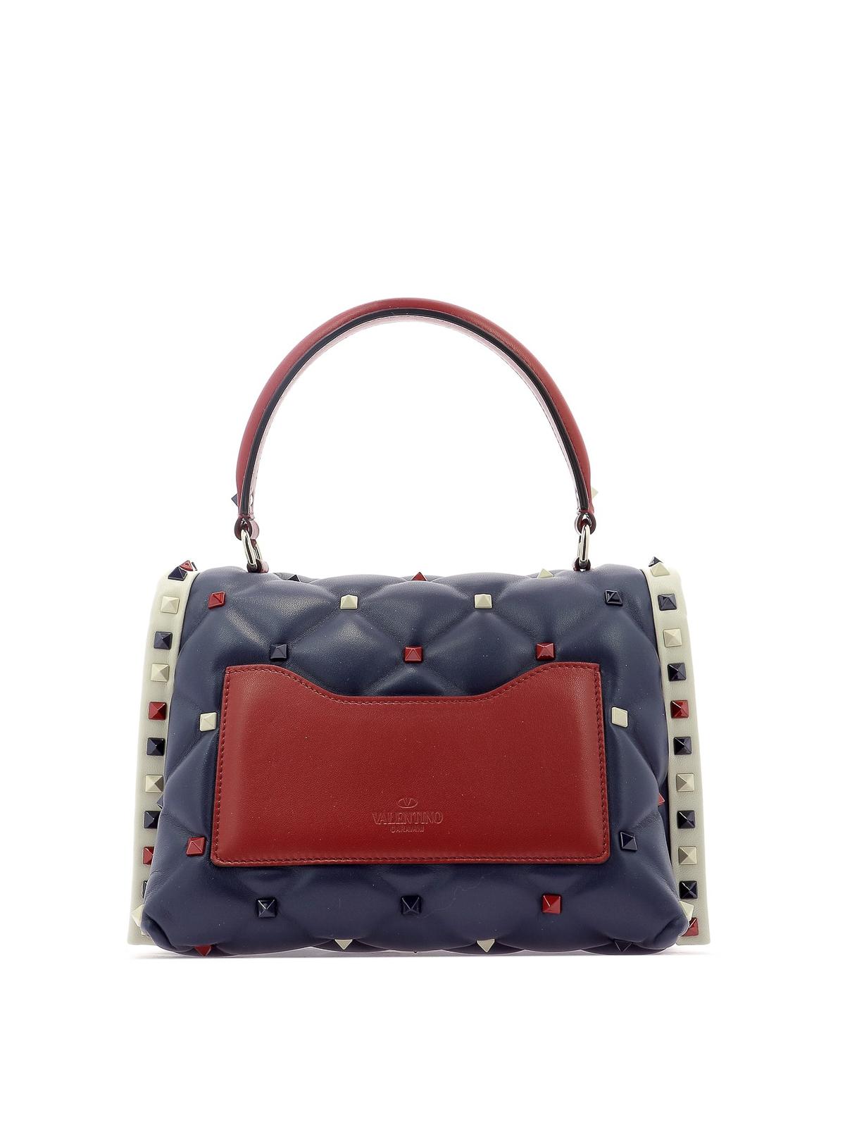 c0a83f6f5779 iKRIX VALENTINO GARAVANI  bowling bags - Candystud M quilted lambskin  handbag