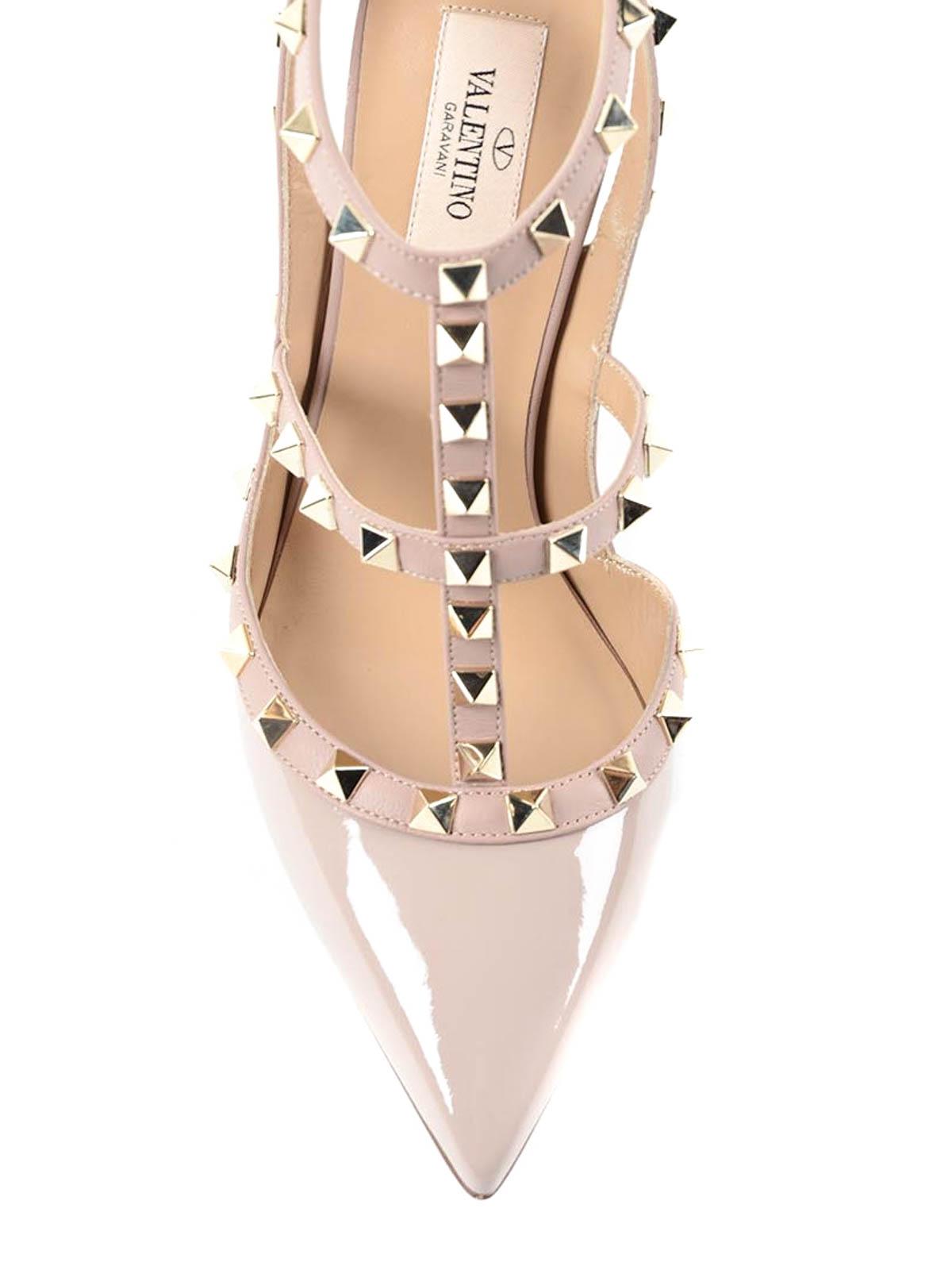 16e152760e6 Valentino Garavani - Rockstud sandals - court shoes - LW0S0393.VNW P45