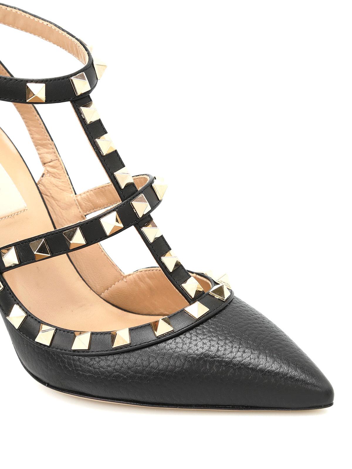 85f4c45fd6f iKRIX VALENTINO GARAVANI  court shoes - Rockstud slingback leather pumps