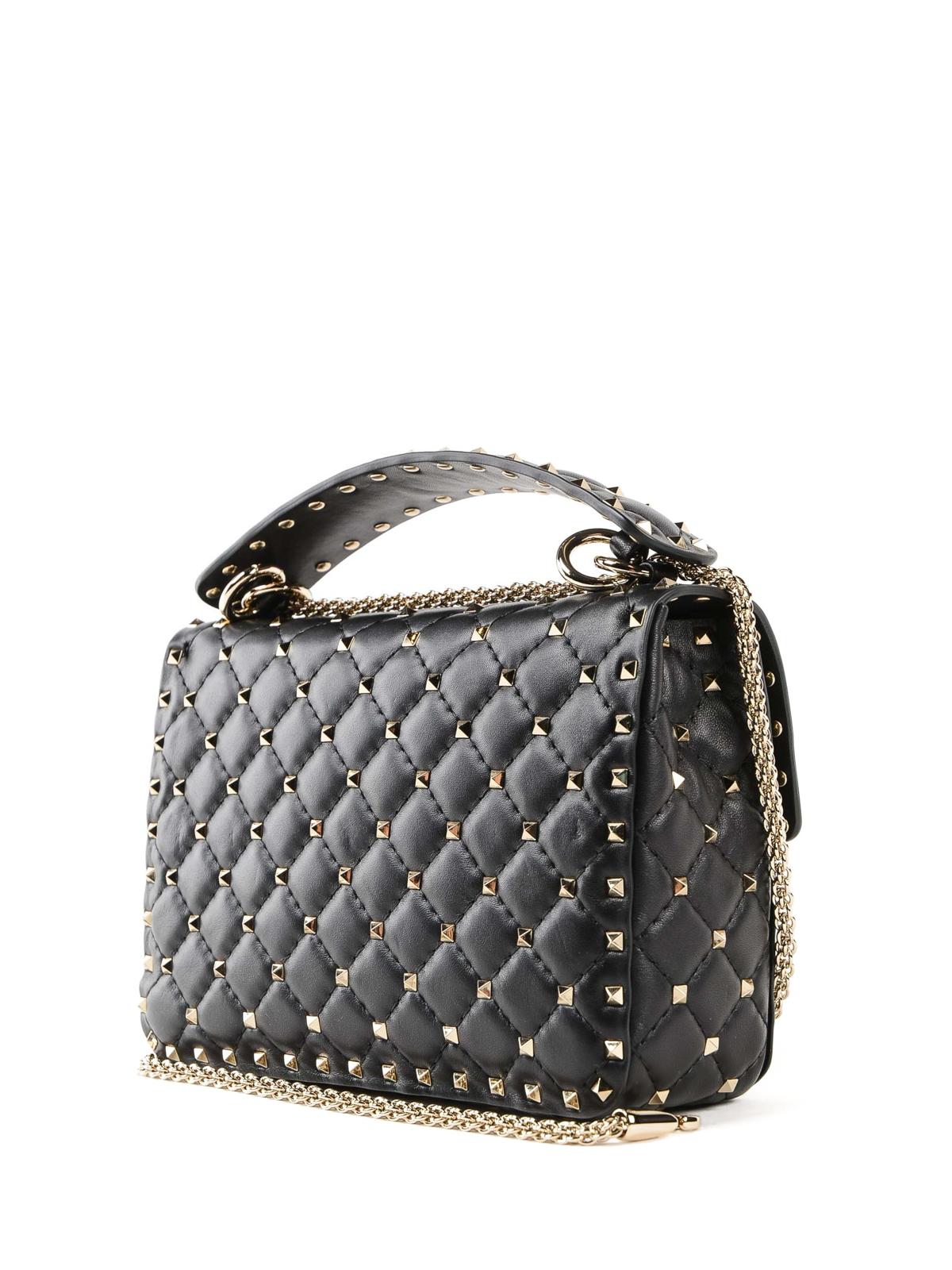 bae4a5126db iKRIX VALENTINO GARAVANI  cross body bags - Rockstud Spike black crossbody  bag