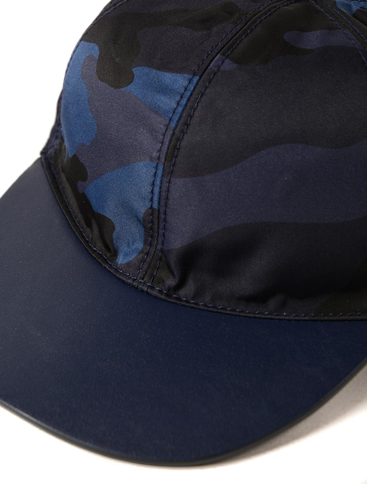 iKRIX VALENTINO GARAVANI  hats   caps - Camu canvas baseball cap b3f2629b38c