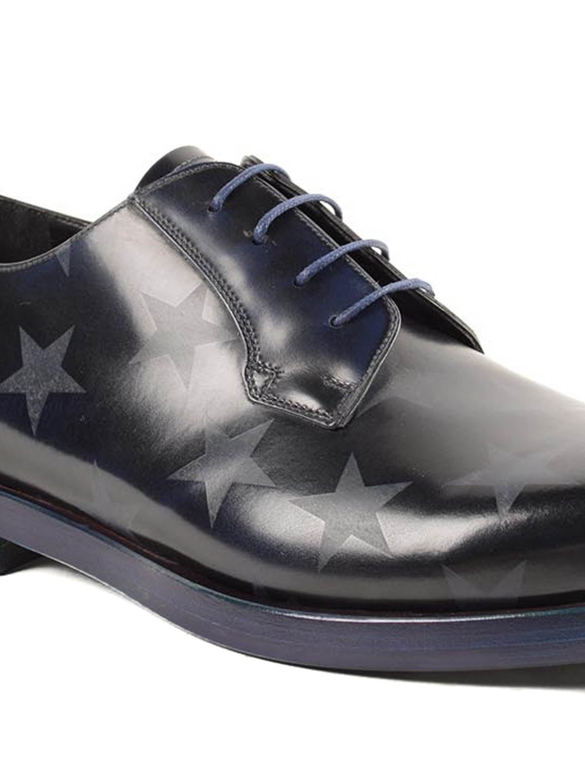 iKRIX Valentino Garavani: lace-ups shoes - Star printed derby shoes