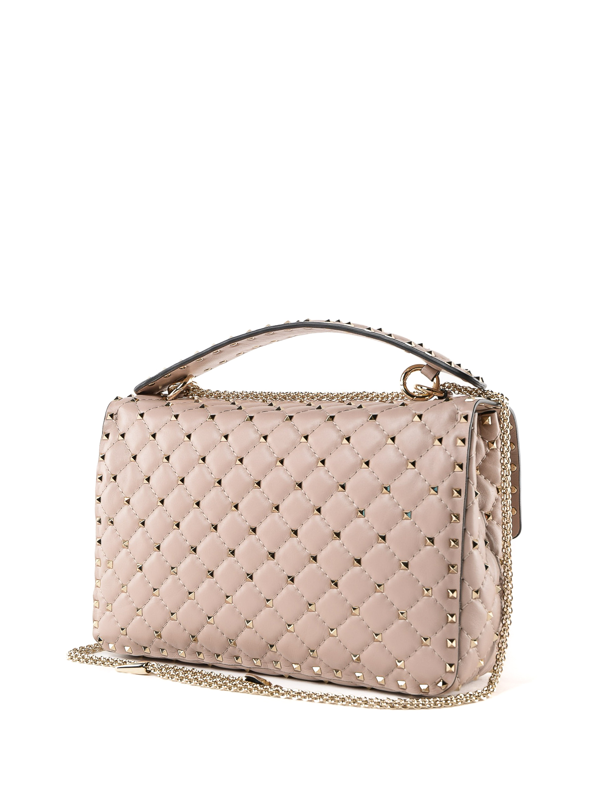 2d80907485 iKRIX VALENTINO GARAVANI: shoulder bags - Rockstud Spike powder lambskin  shoulder bag