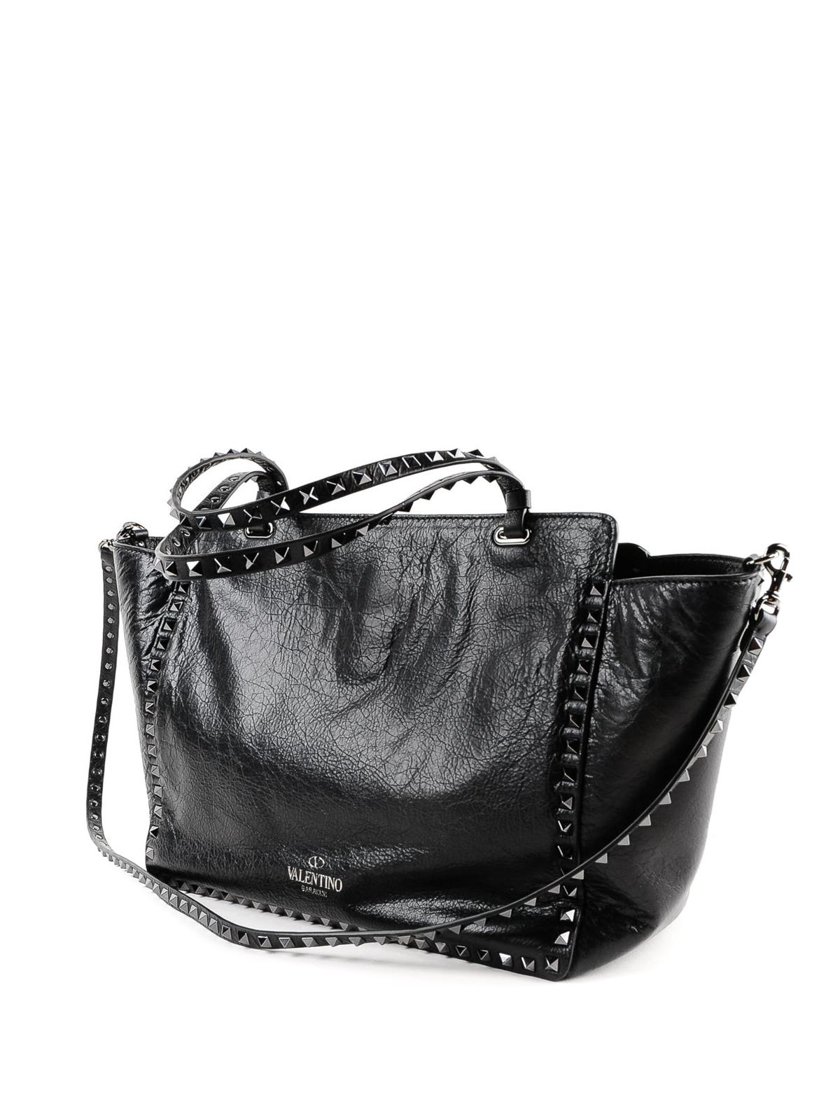 ee388ce7fb iKRIX VALENTINO GARAVANI: totes bags - Rockstud medium tote with stars
