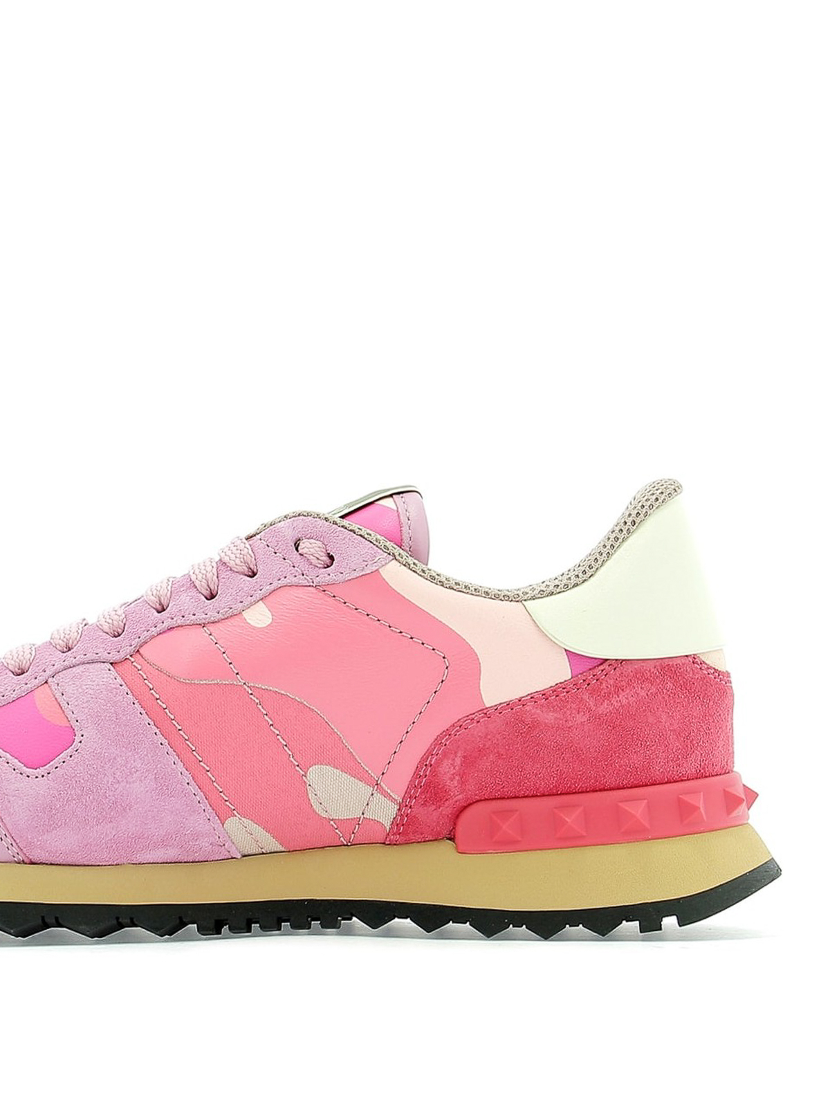 606a246f40291 iKRIX VALENTINO GARAVANI: trainers - Rockrunner camouflage pink sneakers