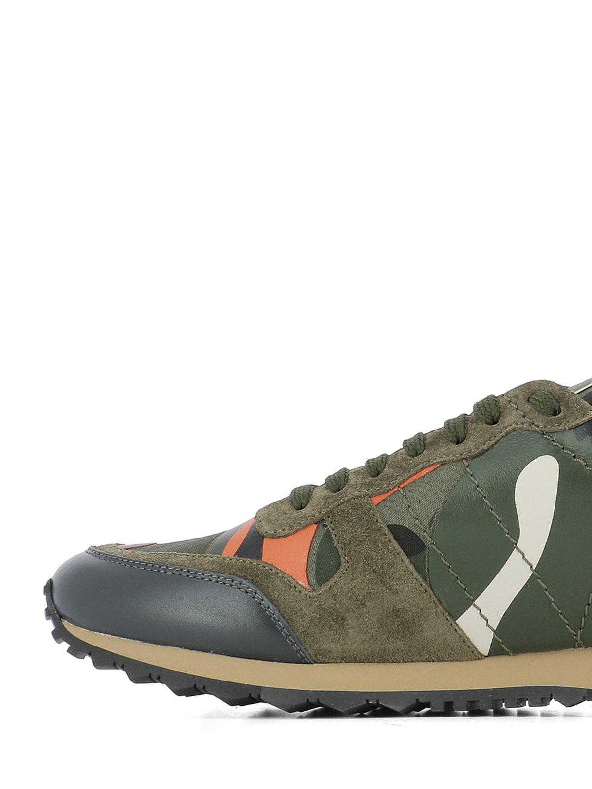 7382812e89bab iKRIX VALENTINO GARAVANI: trainers - Rockrunner Camouflage sneakers