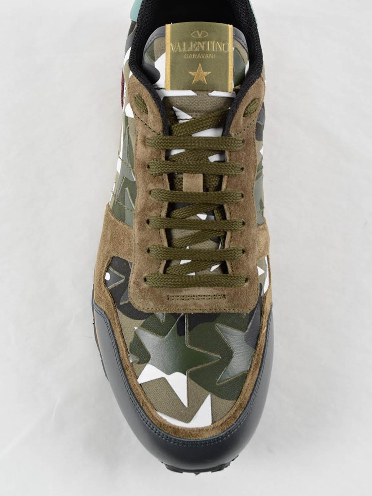 Rockrunner Camustars sneakers