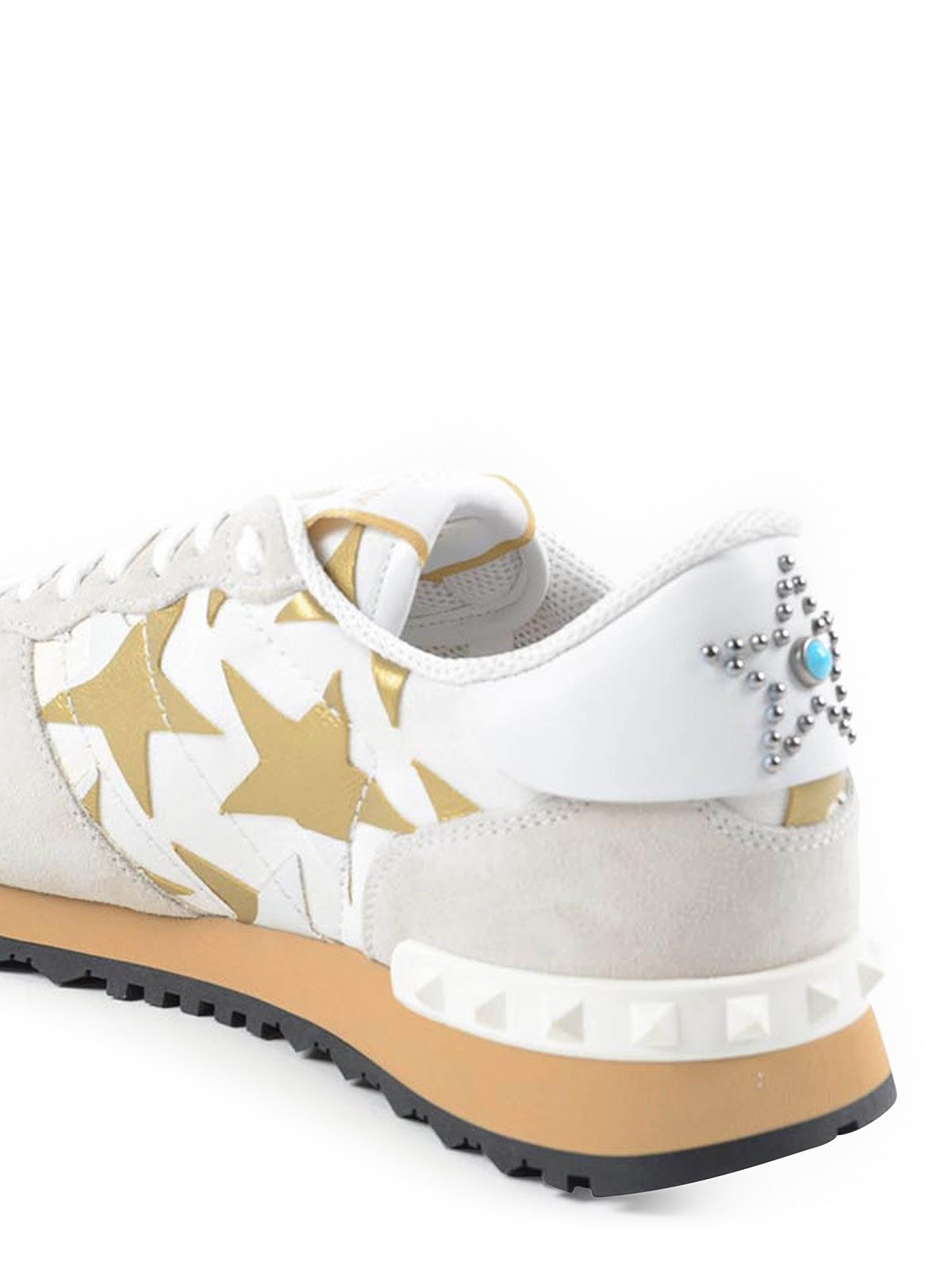 Chaussures Pour Femme Blanc De Garavani Baskets Valentino Sport RqUXZF